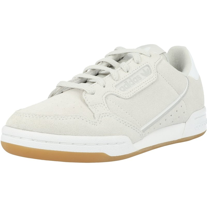 Details about adidas Originals Continental 80 J Grey One Suede Youth Trainers Shoes