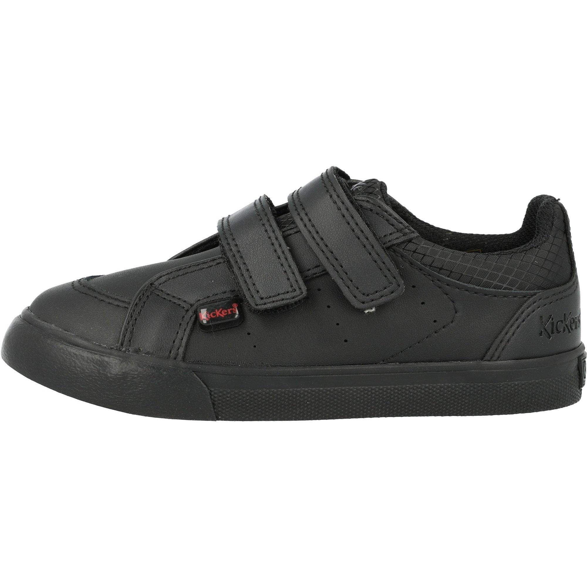 Kickers Tovni Twin Vel I Black Leather
