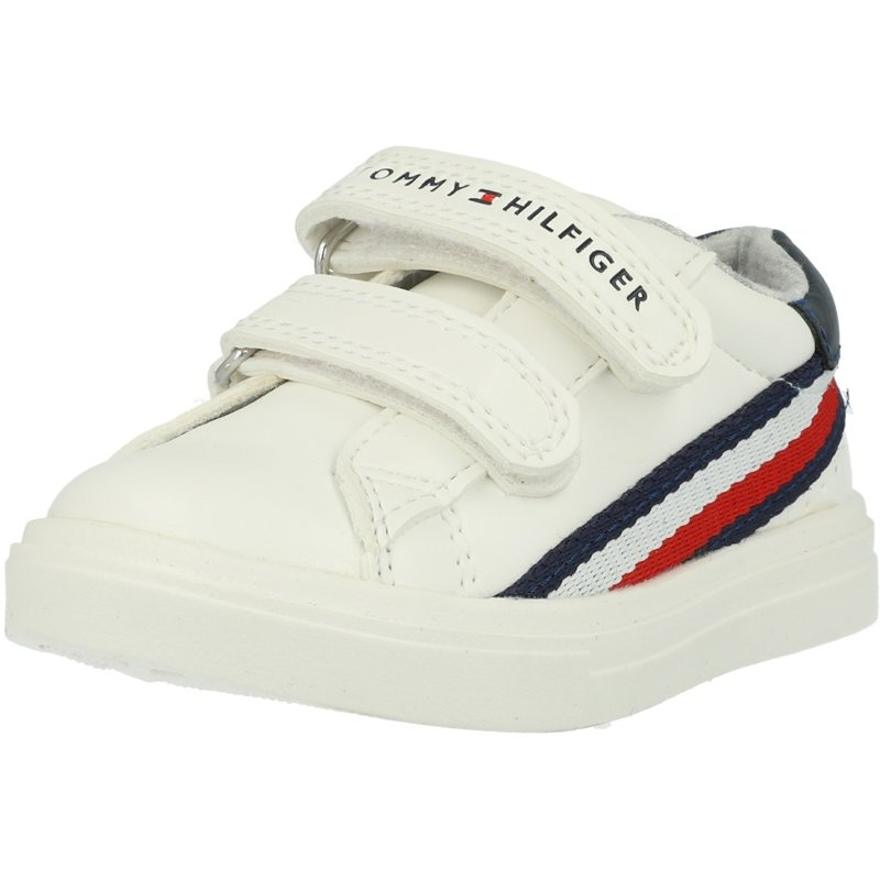 buy good the best picked up Tommy Hilfiger T1B4-30699-0621 White/Blue Eco Leather Infant ...