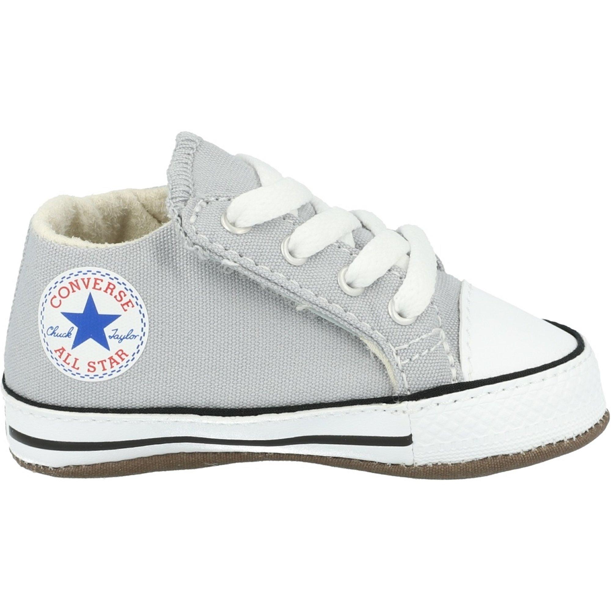 Converse Chuck Taylor All Star Cribster Mid Wolf Grey Canvas Baby
