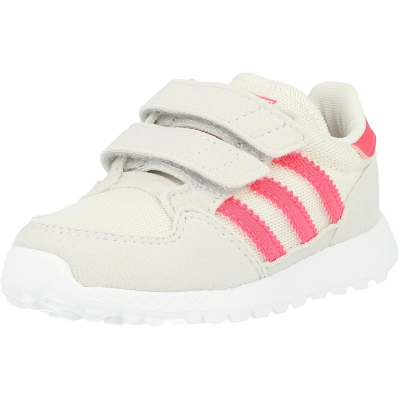Details about adidas Originals Forest Grove CF I Chalk WhiteReal Pink Synthetic Suede Infant