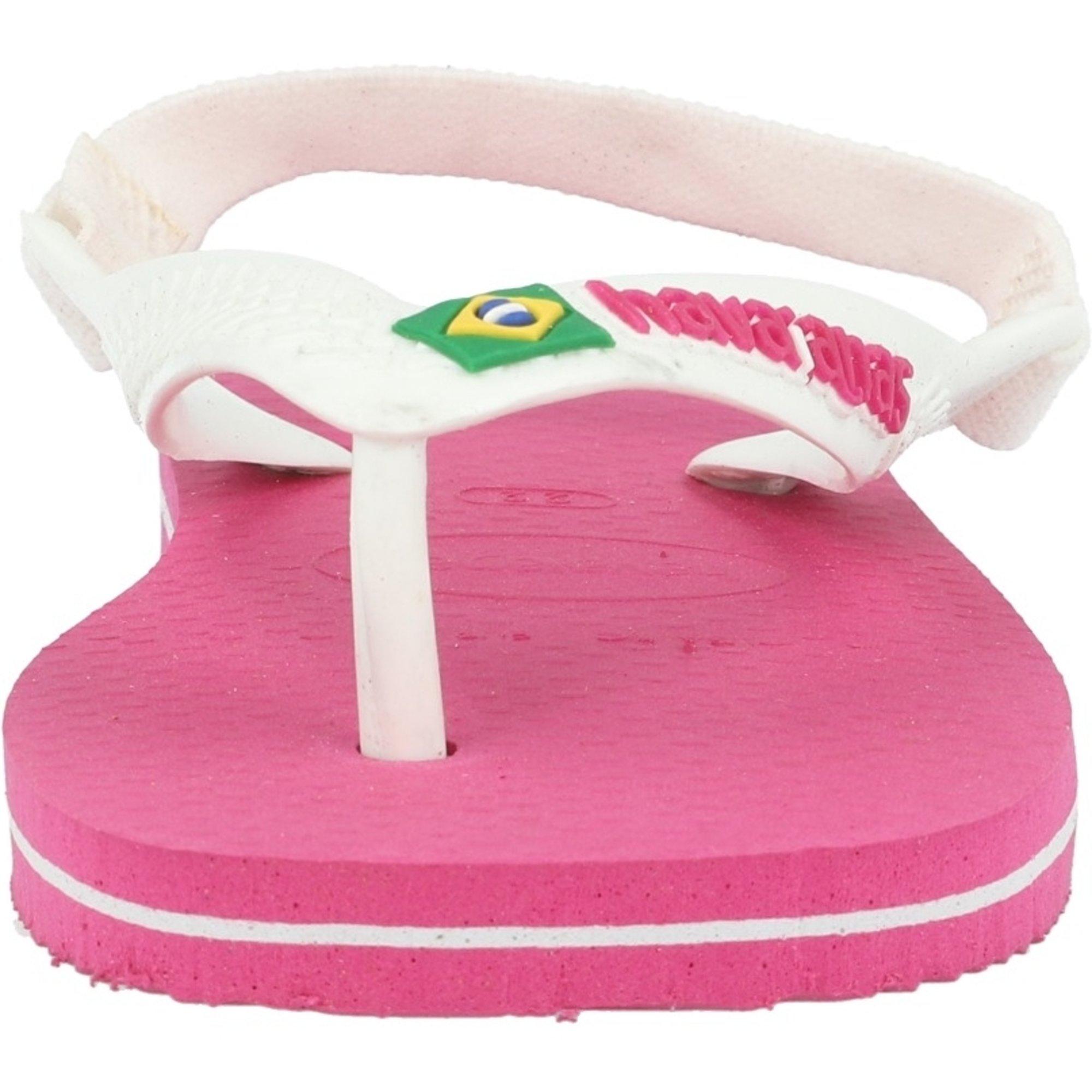 Havaianas Baby Brasil Logo II Hollywood Rose Rubber