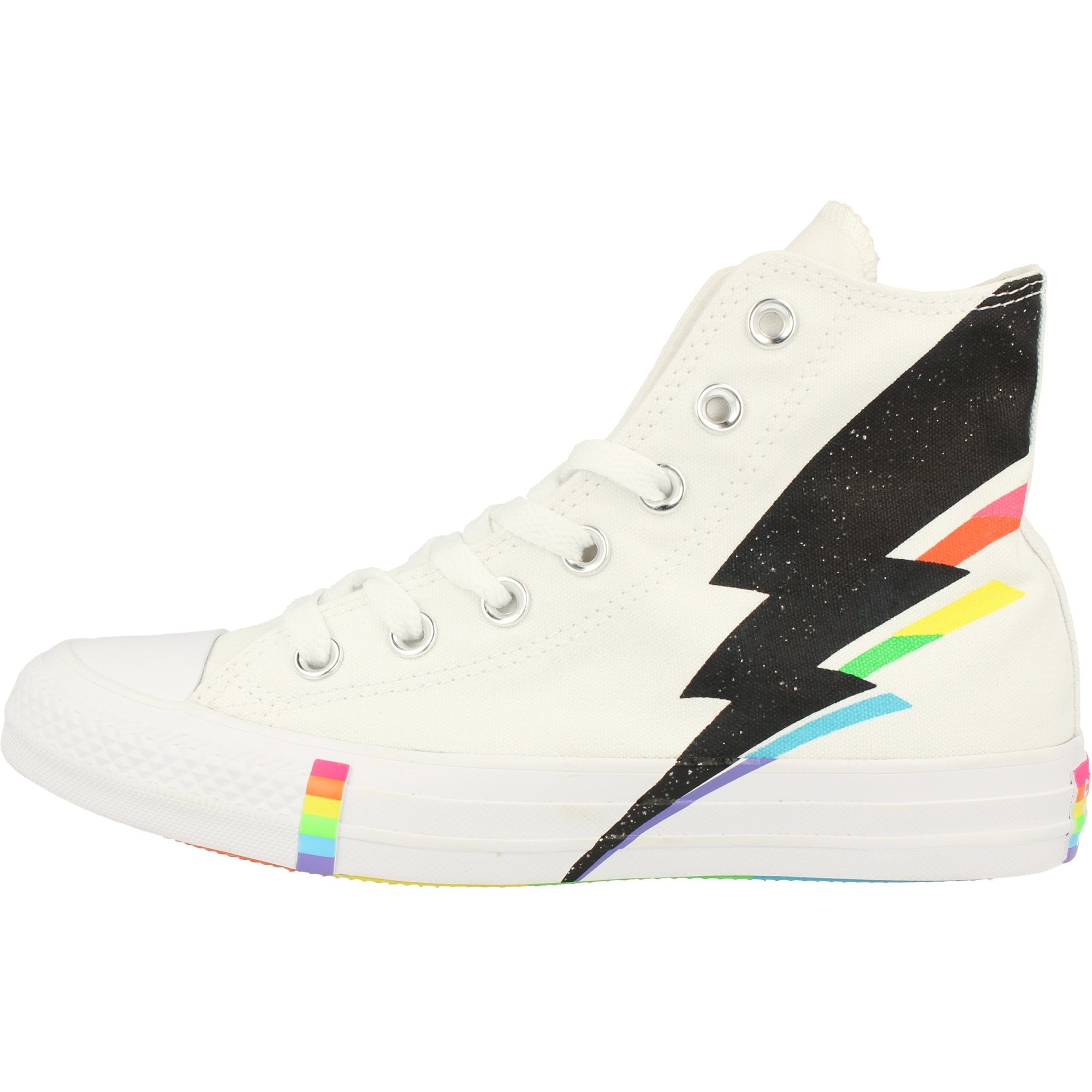 Converse Chuck Taylor All Star Pride Hi WhiteBlackMulti Canvas Adult