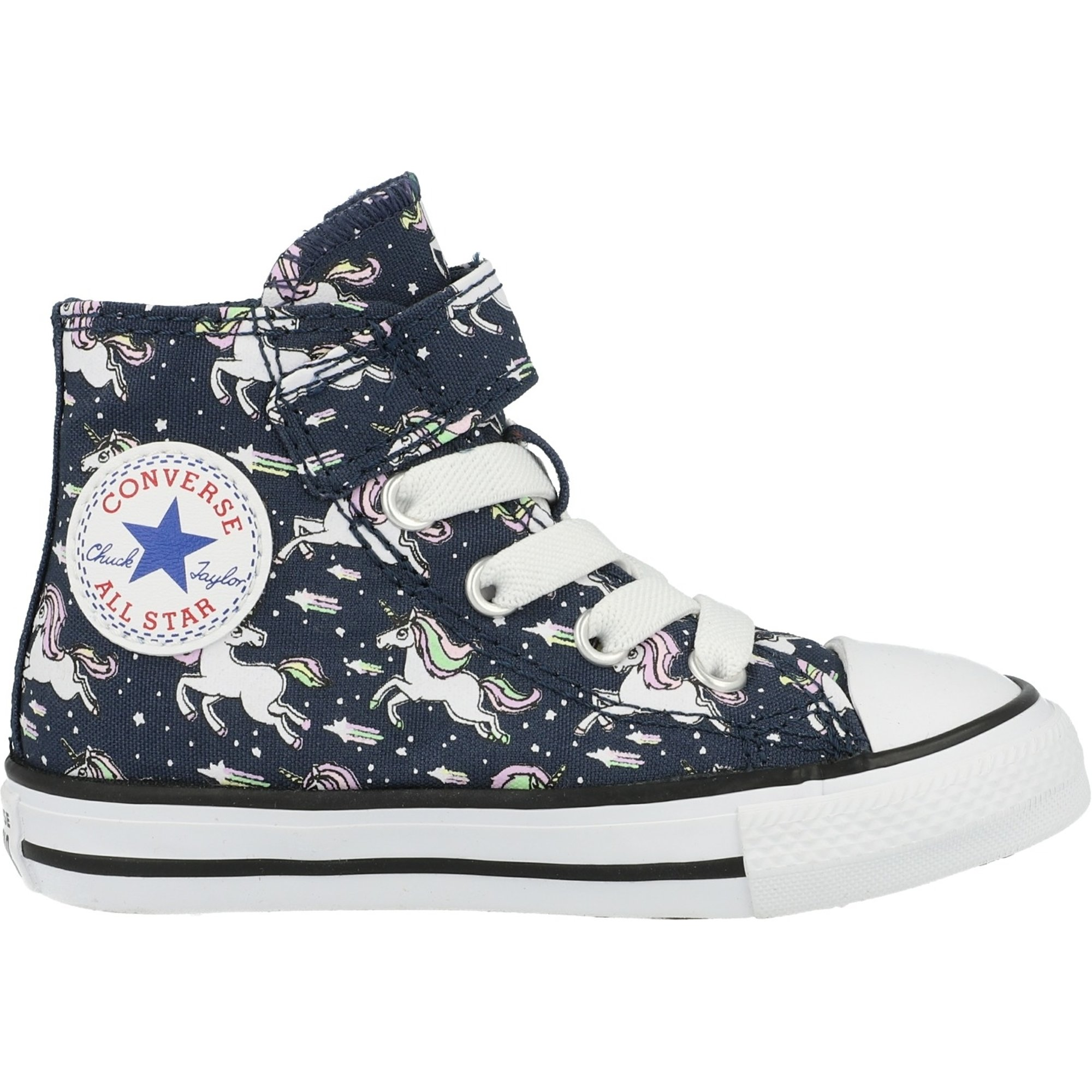 Converse Chuck Taylor All Star 1V Unicons Hi Navy/Black Canvas Infant