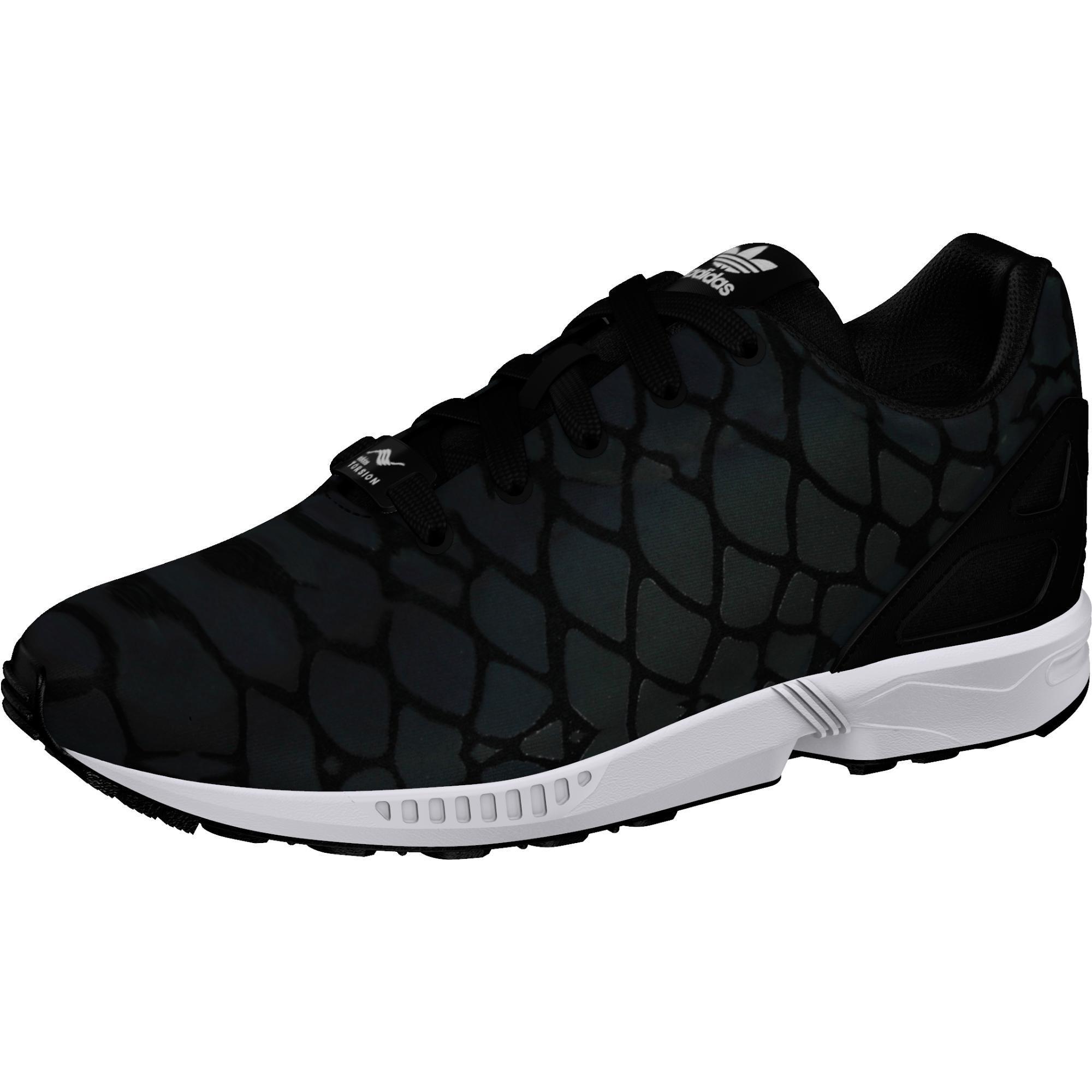 adidas Originals ZX Flux Xenopeltis K Black Mesh Youth