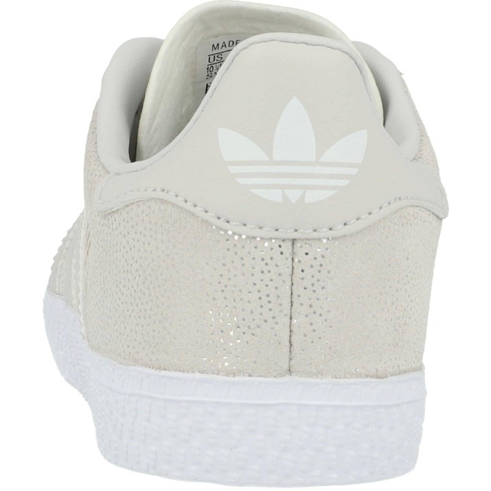 adidas Originals Gazelle C WeißGraue Eins Wildleder Junior