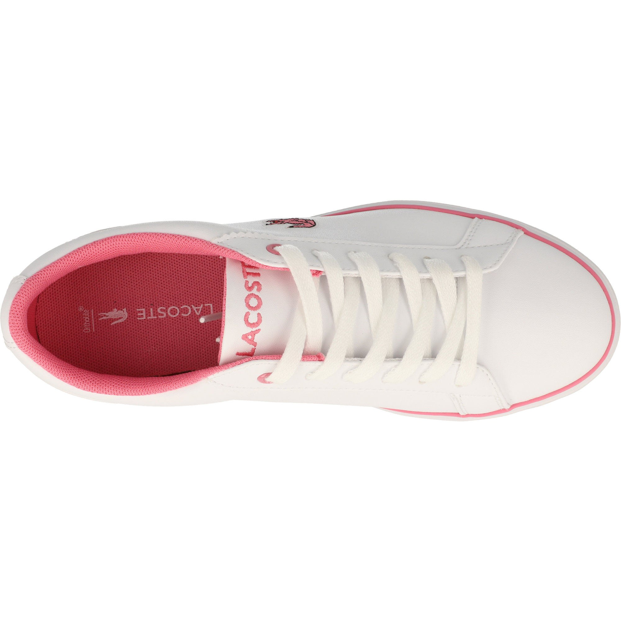 Lacoste Lerond BL 2 White/Pink Synthetic