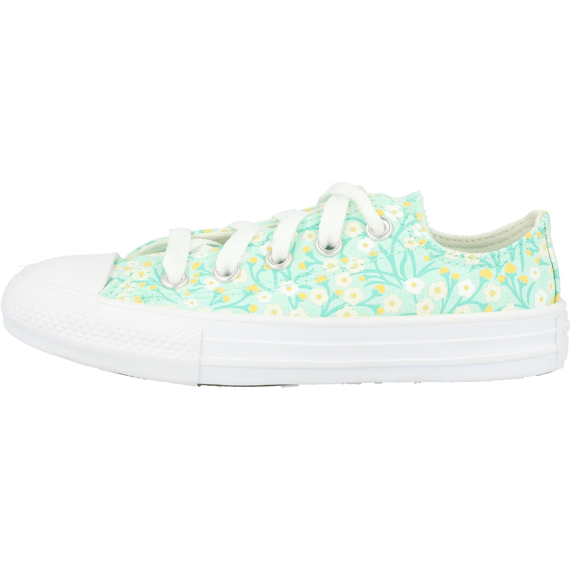 Converse Chuck Taylor All Star Ox Ditsy Floral Ocean Mint/White Canvas
