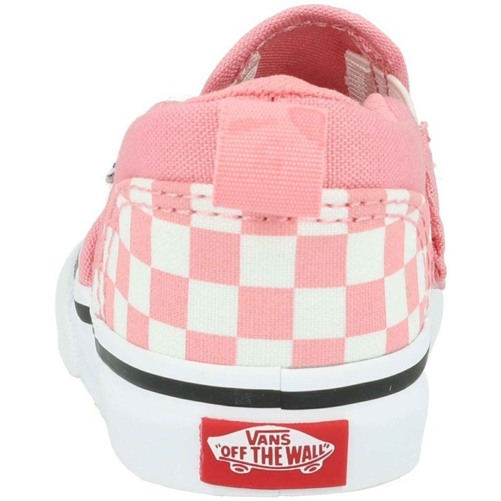 Vans Active TD Asher V Pink Icing Checkerboard Canvas Infant