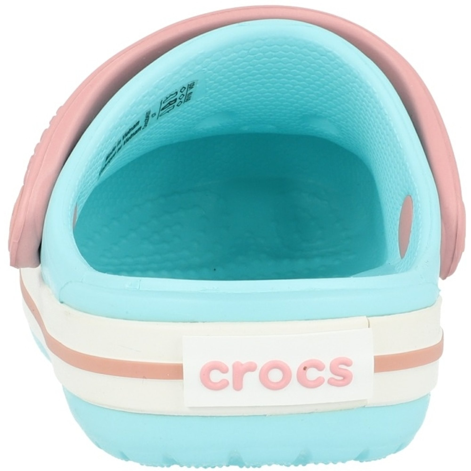 Crocs Kids Crocband Clog Ice Blue/White Croslite