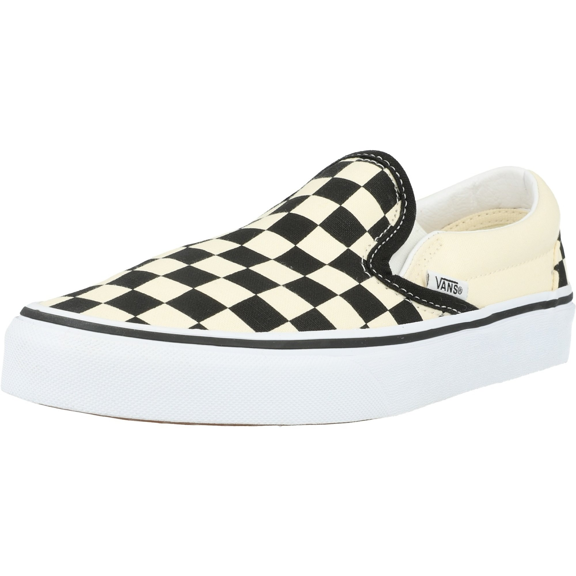 Vans UA Classic Slip-On Black/White Checkerboard Canvas Adult