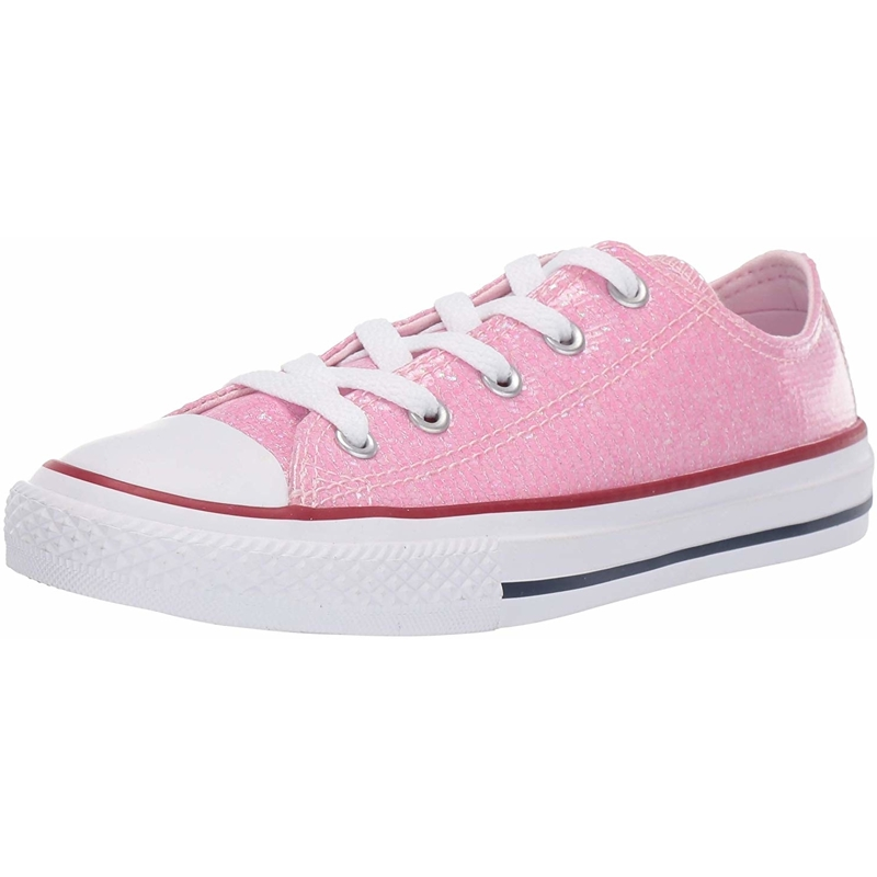 Details about Converse Chuck Taylor All Star Ox Sport Sparkle Pink Foam Synthetic Youth