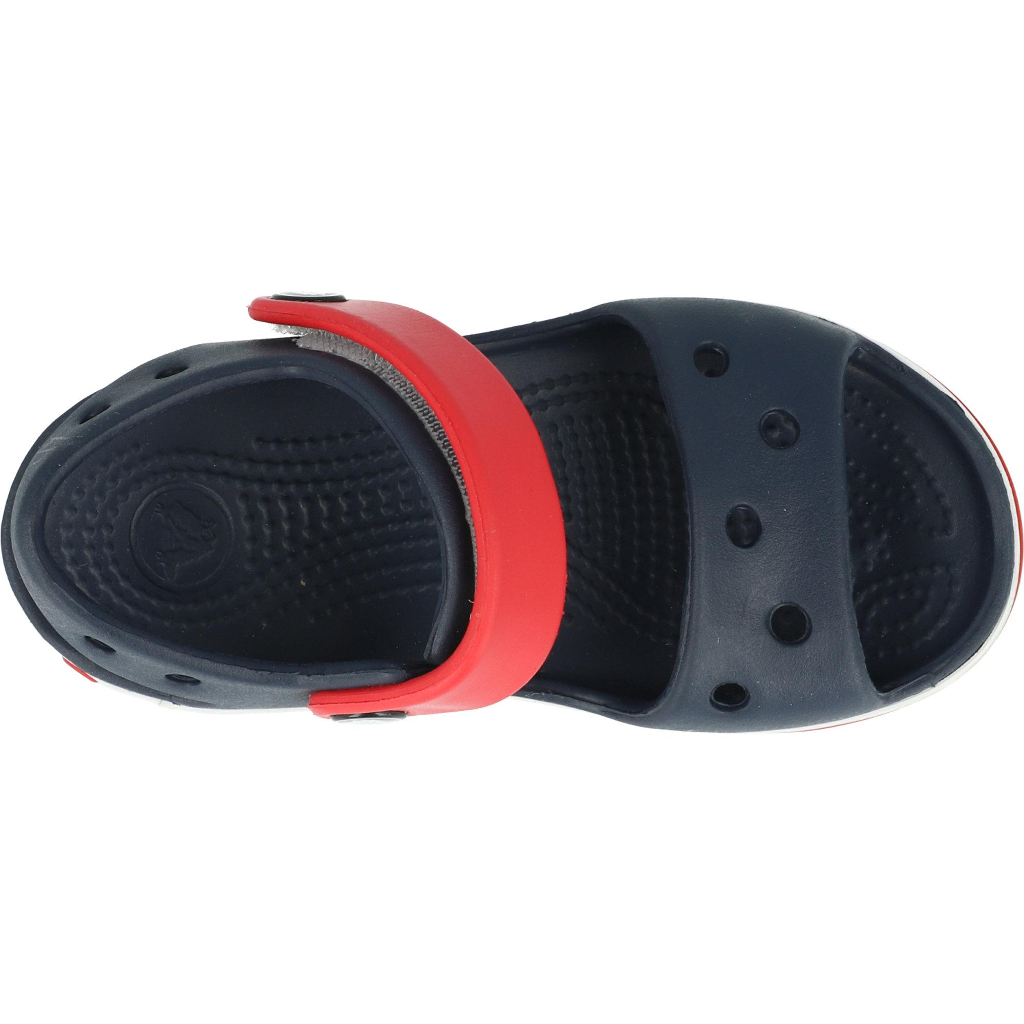 Crocs Crocband Sandal Kids Navy/Red Croslite