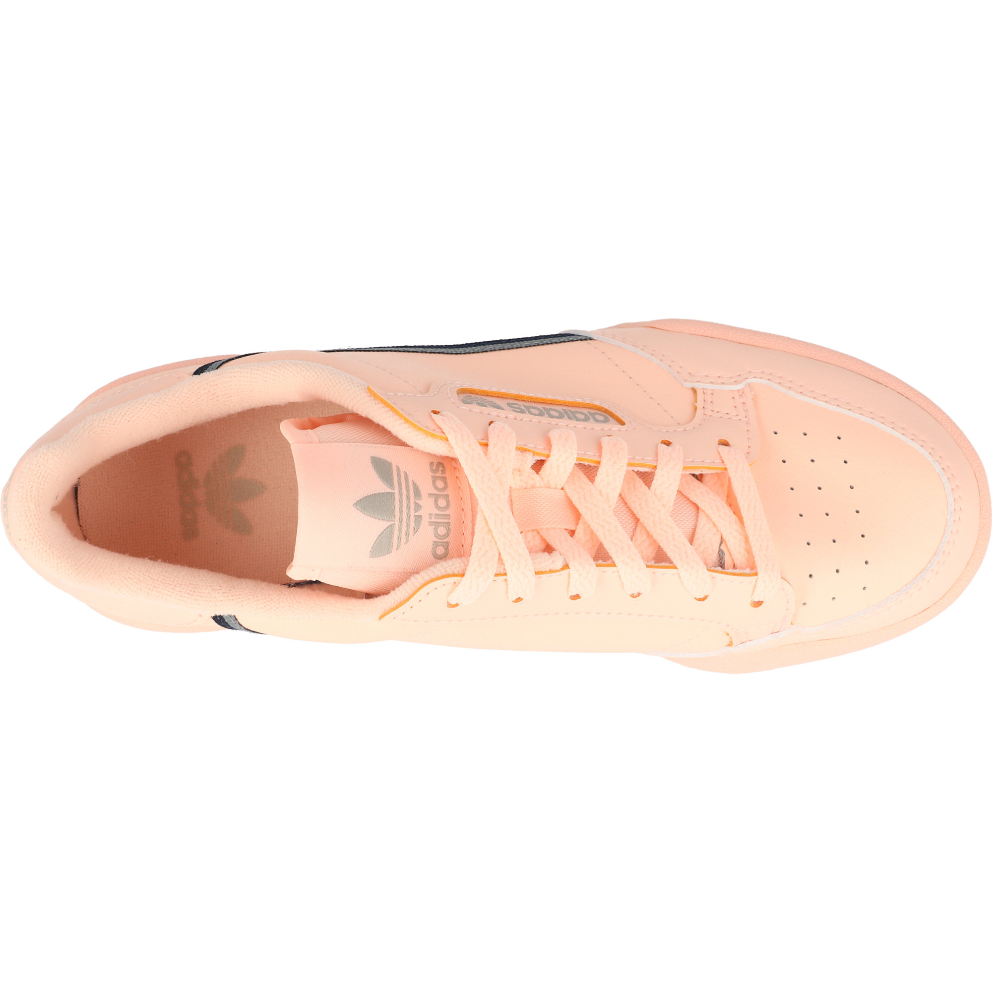 adidas Originals Continental 80 J Clear Orange Leather Youth