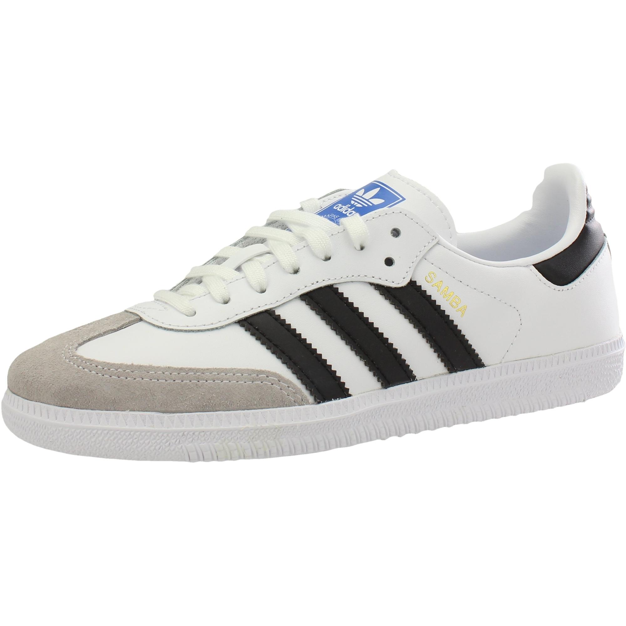 adidas Originals Samba OG J WhiteBlack Leather Youth