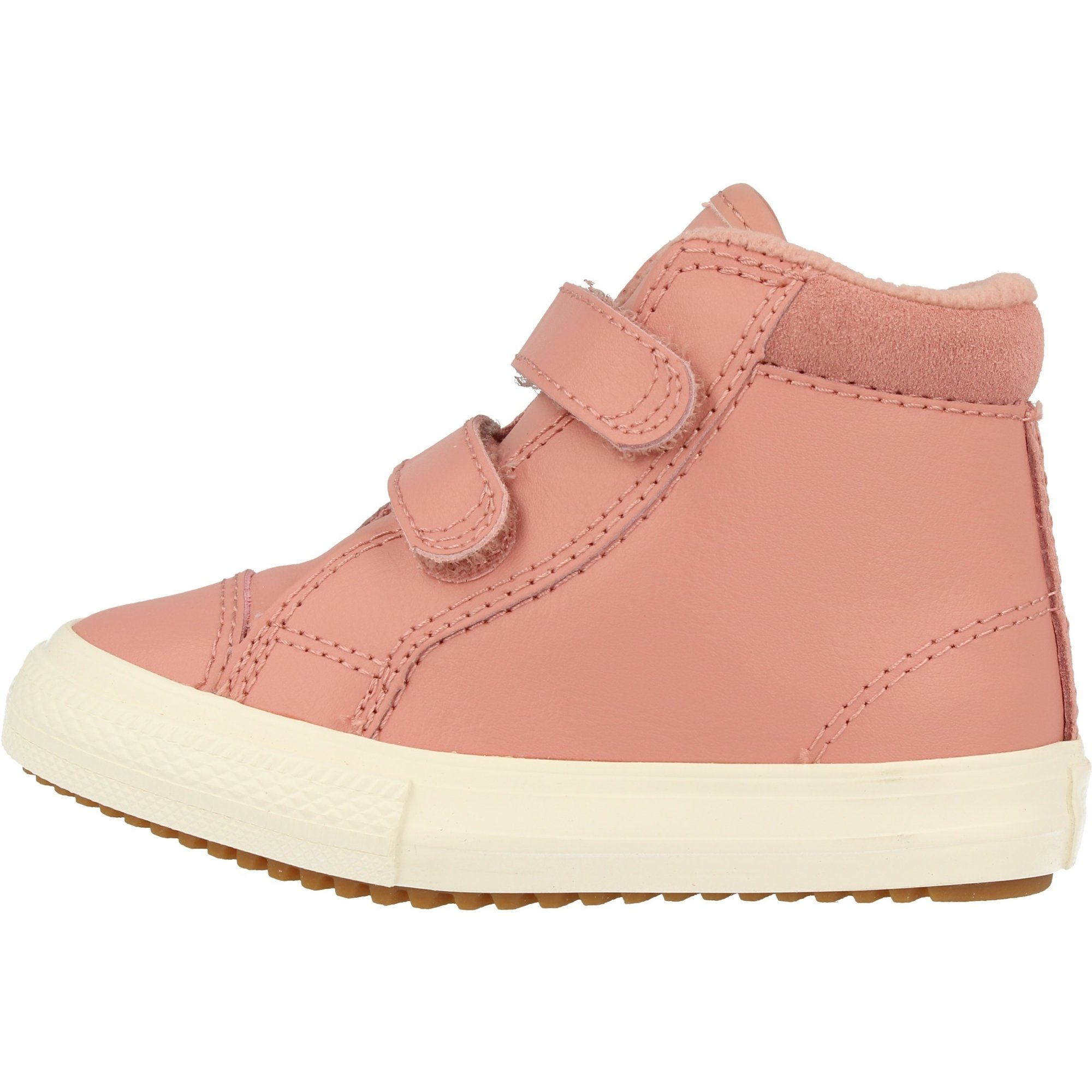 Converse Chuck Taylor All Star 2V PC Boot Hi Rust Pink Leather Baby