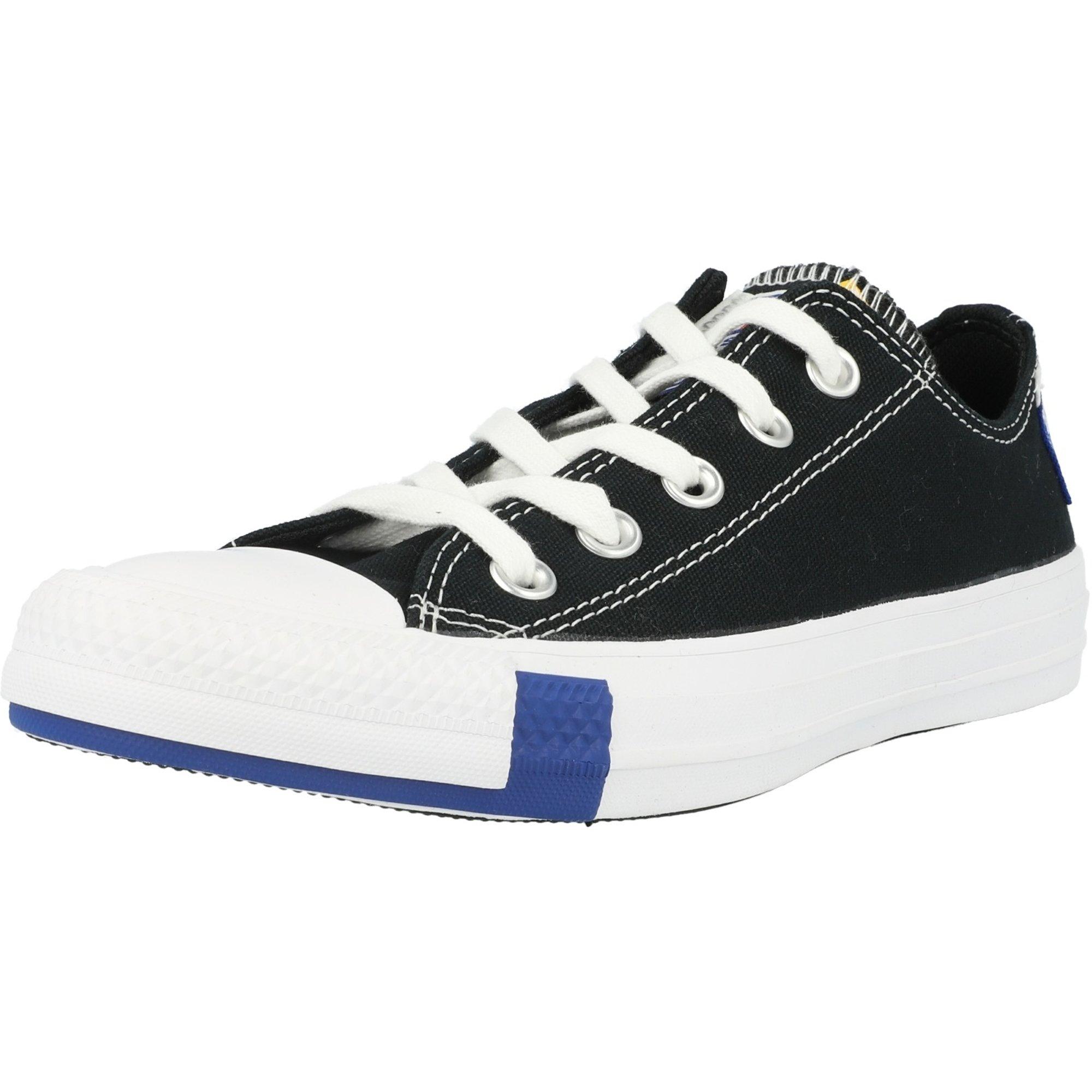 Converse Chuck Taylor All Star Ox Logo Play Black/Rush Blue Canvas