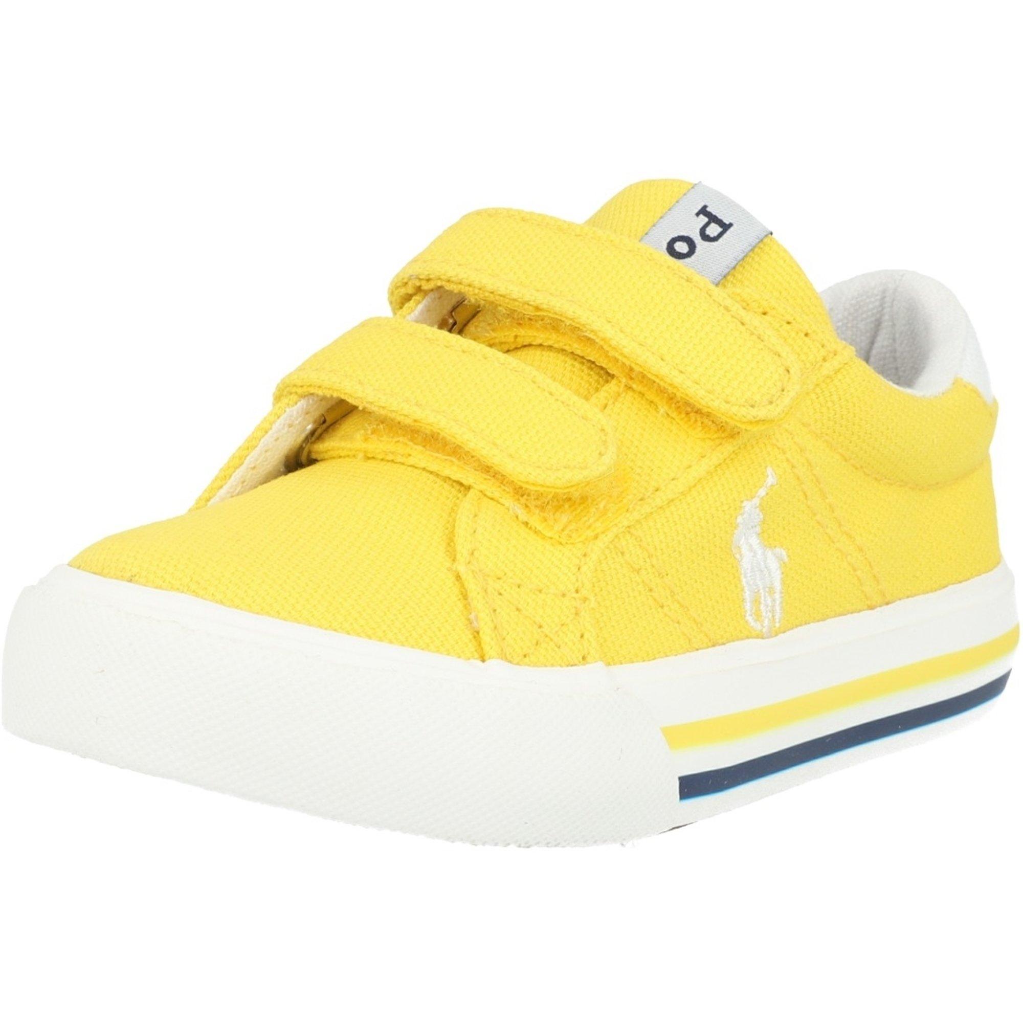 Polo Ralph Lauren Evanston EZ Yellow Canvas Infant