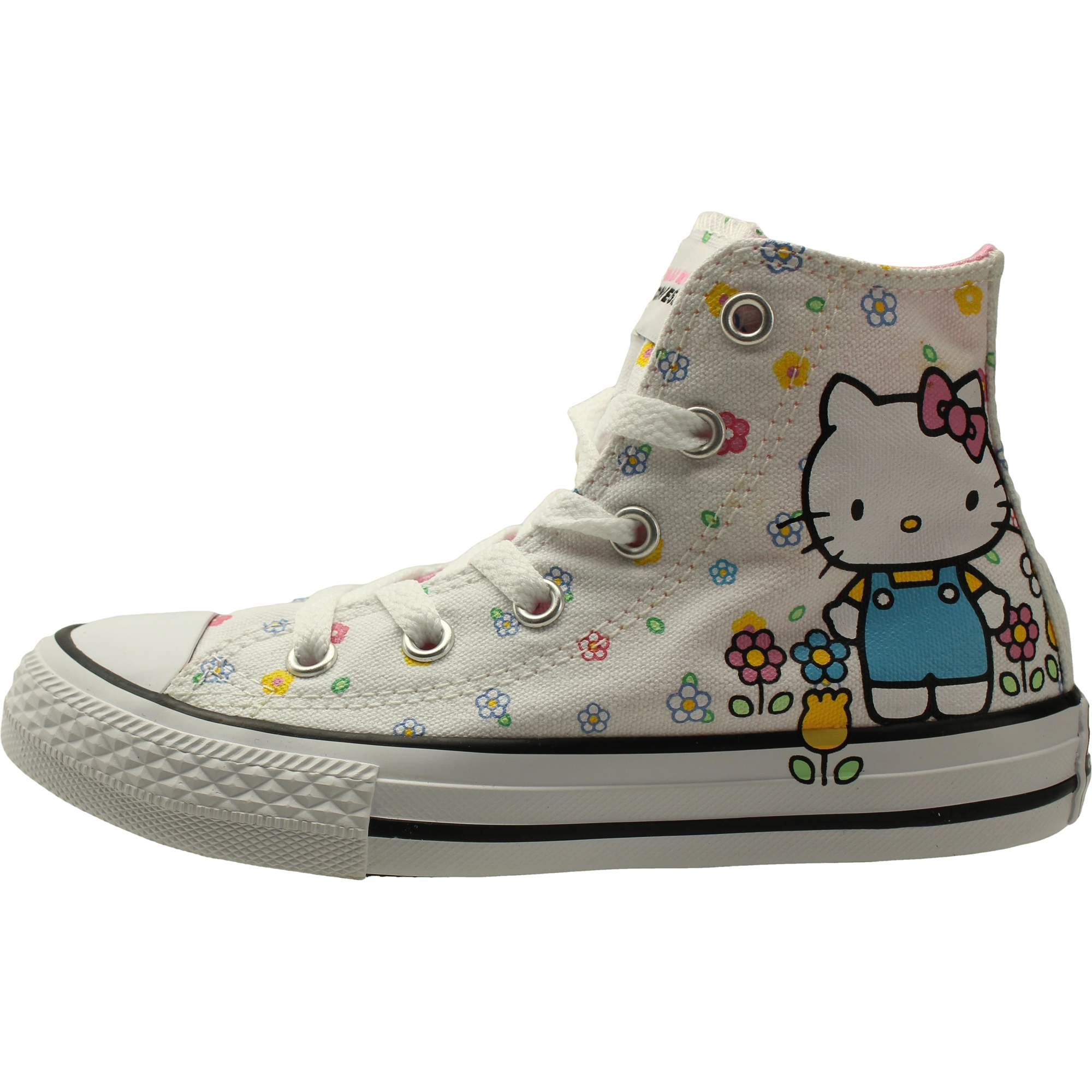 Converse Chuck Taylor All Star Hello Kitty Hi White/Pink Canvas Youth