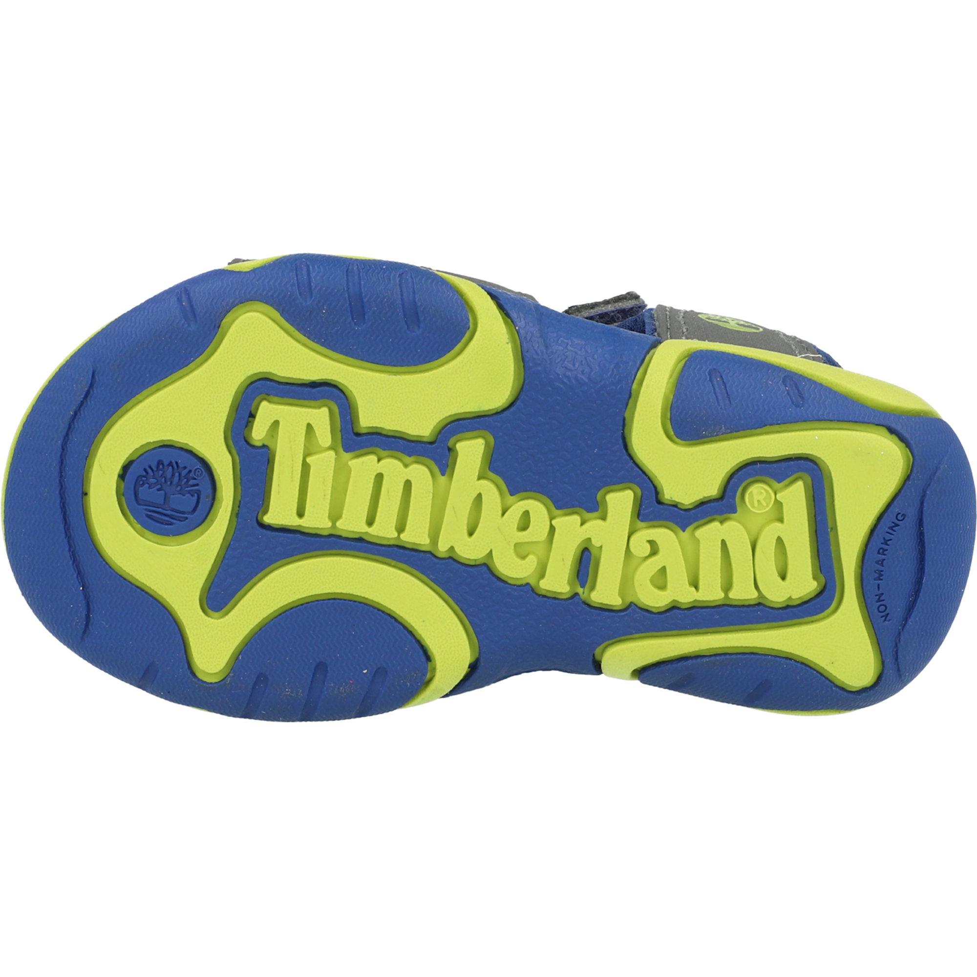 Timberland Adventure Seeker Dunkelgrau Synthetische Kleinkind Gurt Sandalen