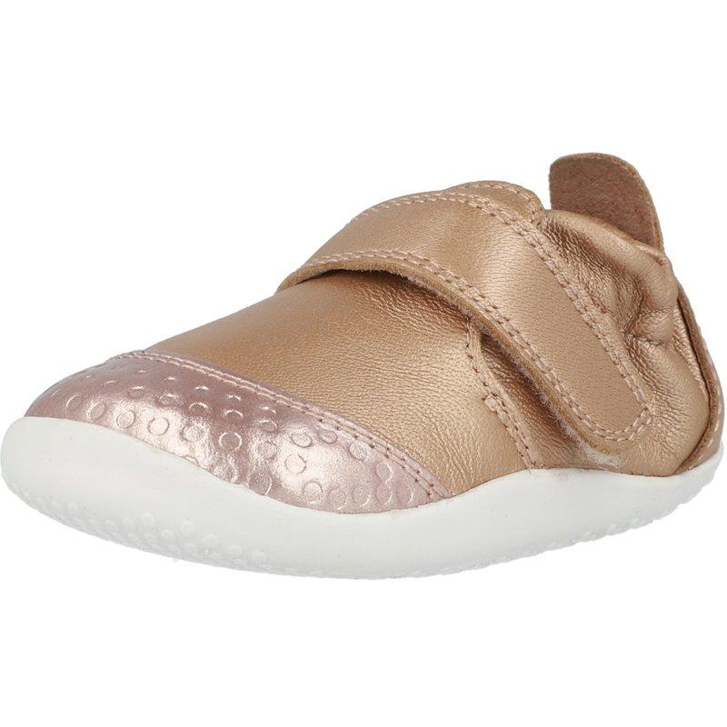 Bobux i-Walk Dimension II Fuschia//Silber Leder Säugling Ersten Wanderer Schuhe