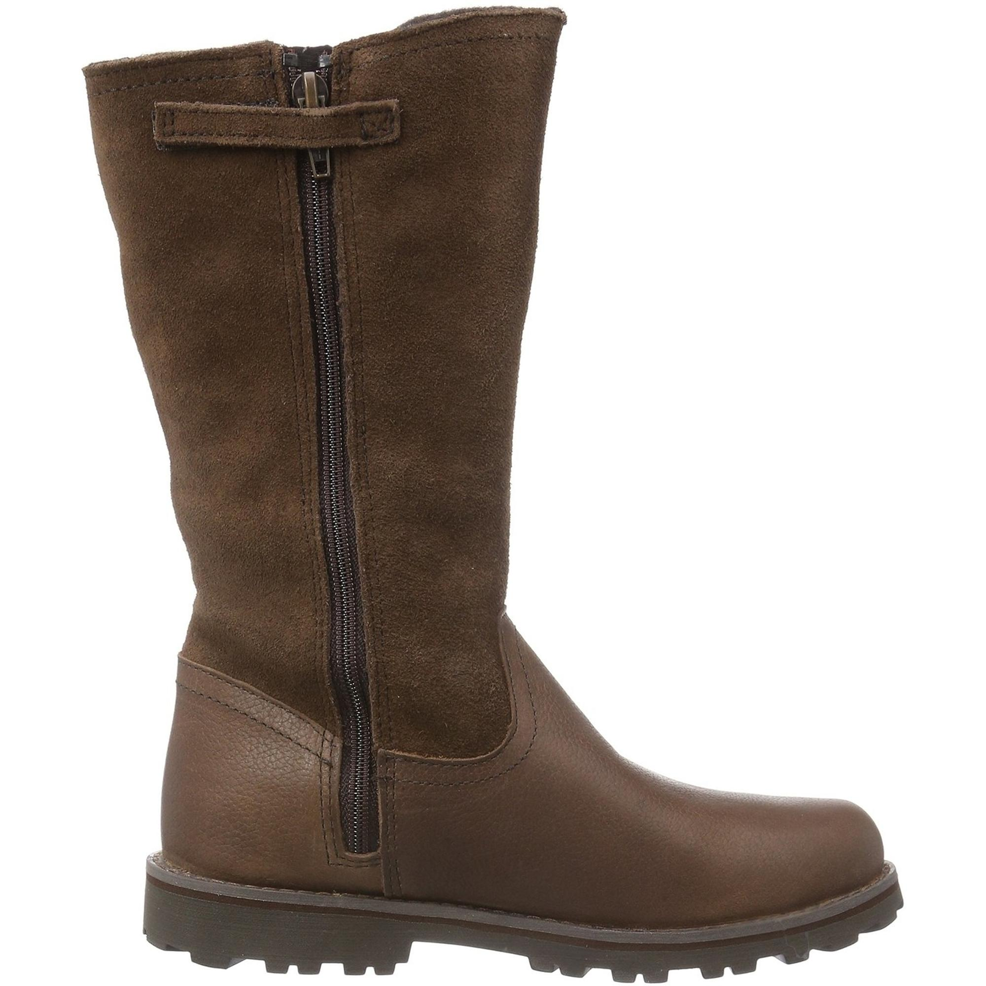 Asphalt Briarcliff Timberland Brown Leather Junior Trail WEH9ID2