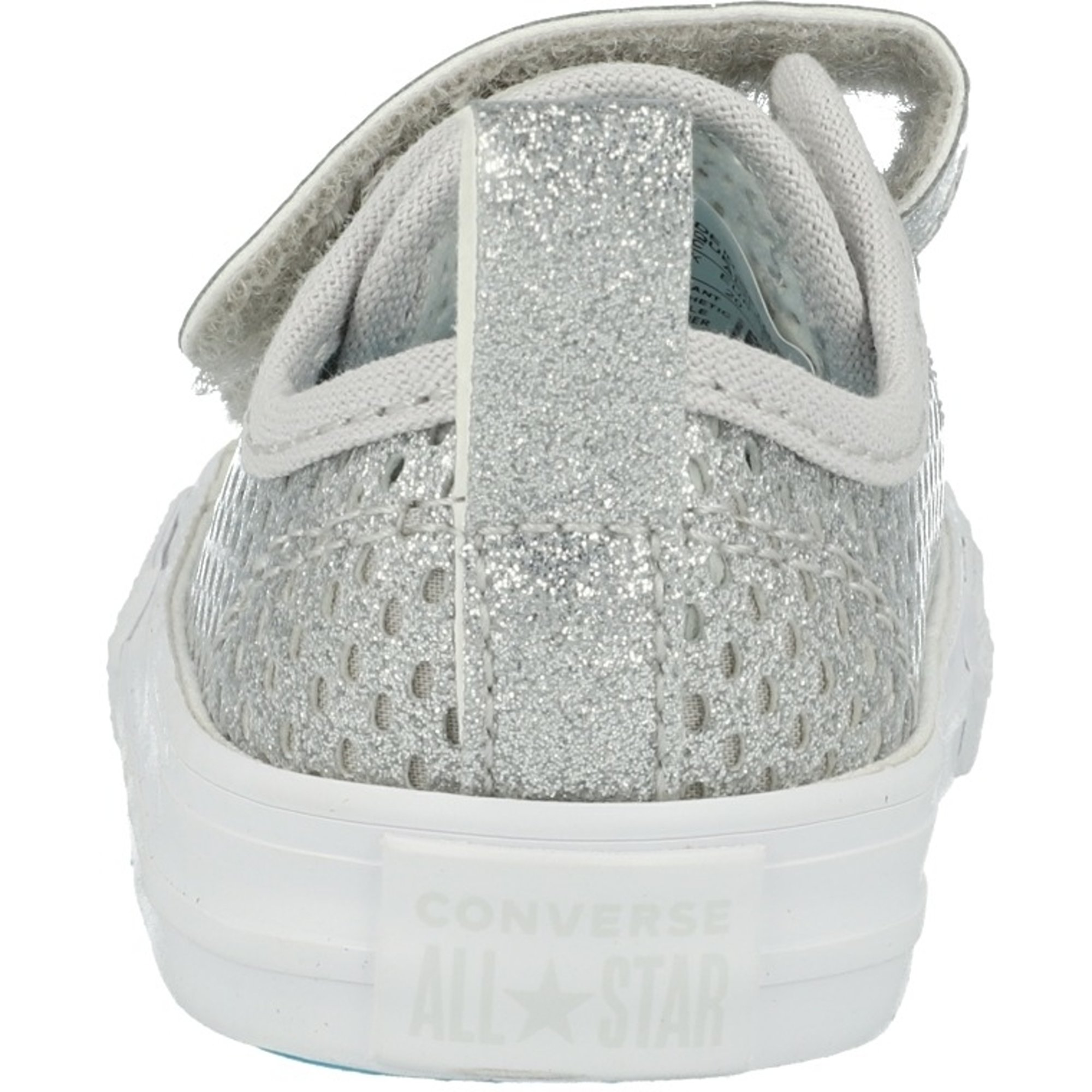 Converse Chuck Taylor All Star 2V Pacific Lights Ox Silver Synthetic Baby