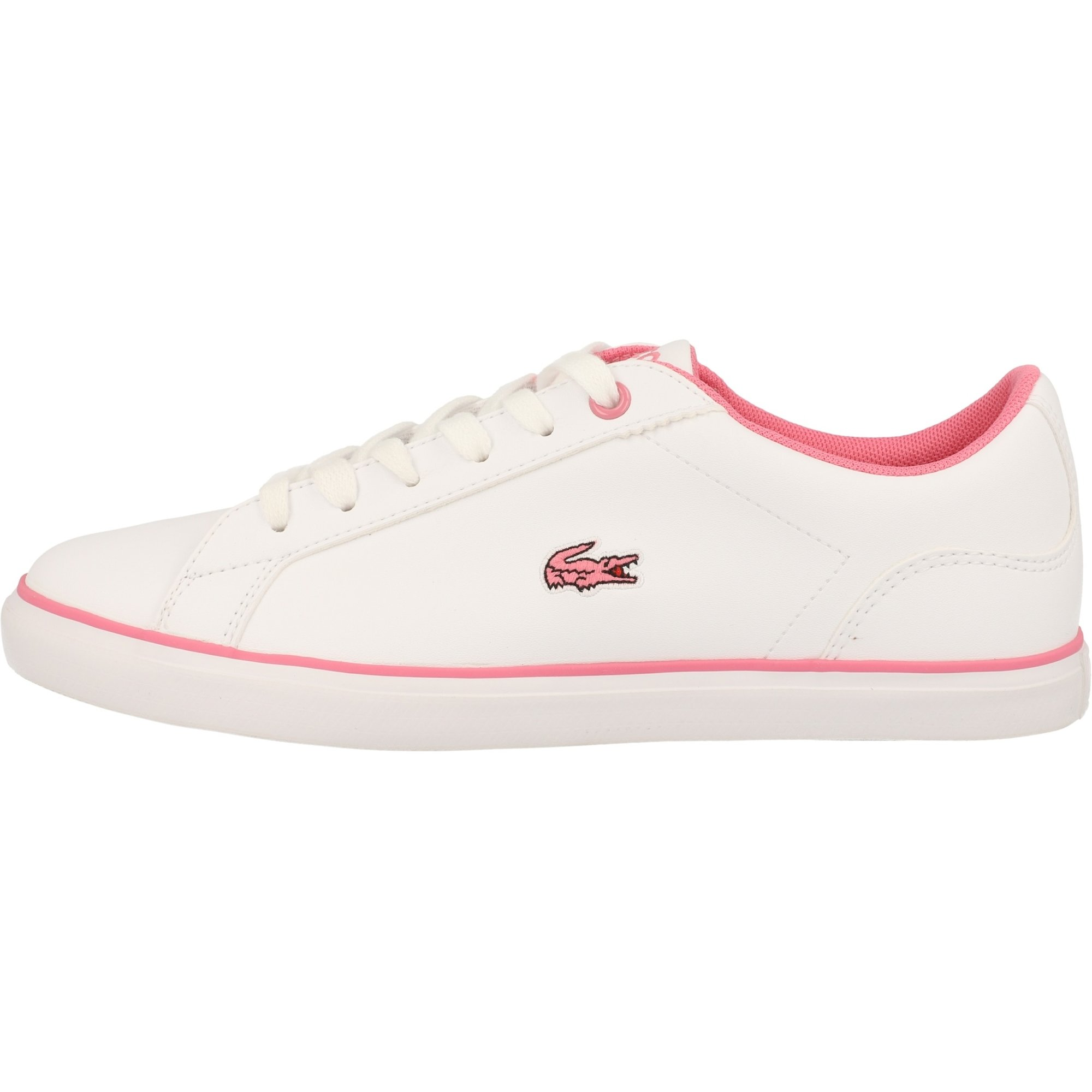 Lacoste Lerond BL 2 White/Pink Synthetic Junior