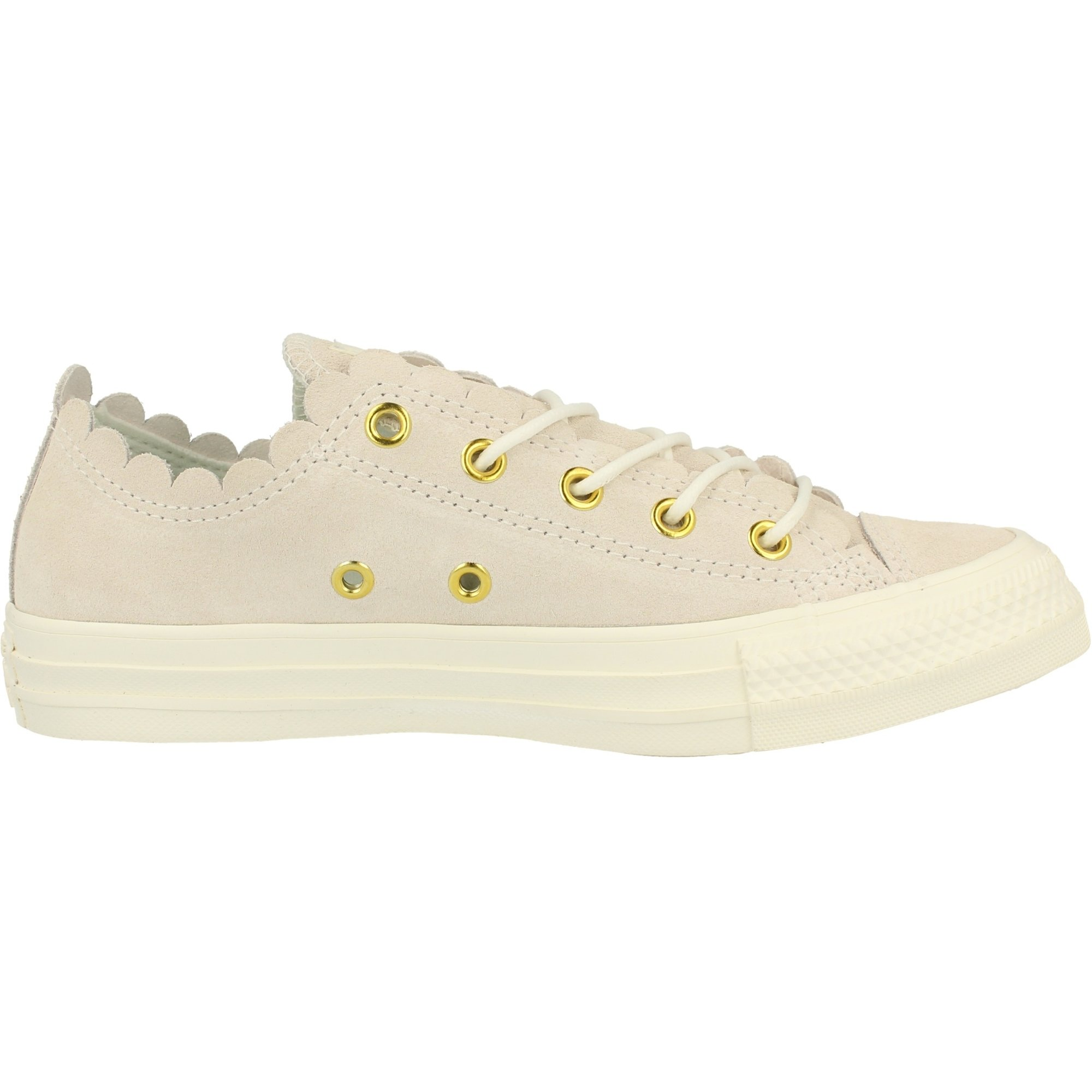 Converse Chuck Taylor All Star Ox Frilly Thrills Airone Scamosciato Adulto