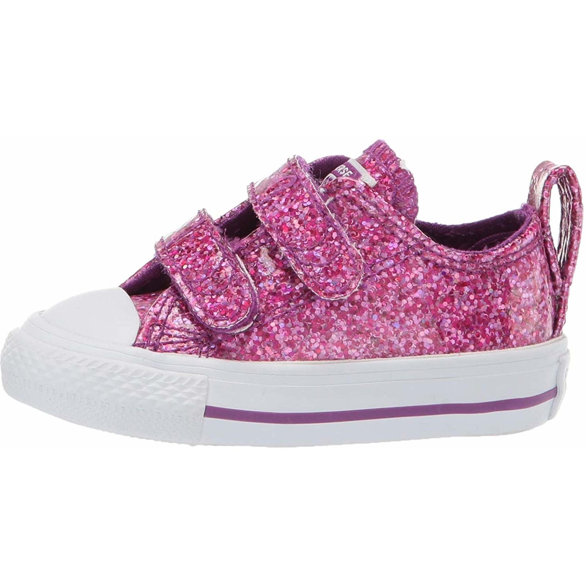 Converse Chuck Taylor All Star 2V Party Dress Ox Ikone Violett Synthetik Baby