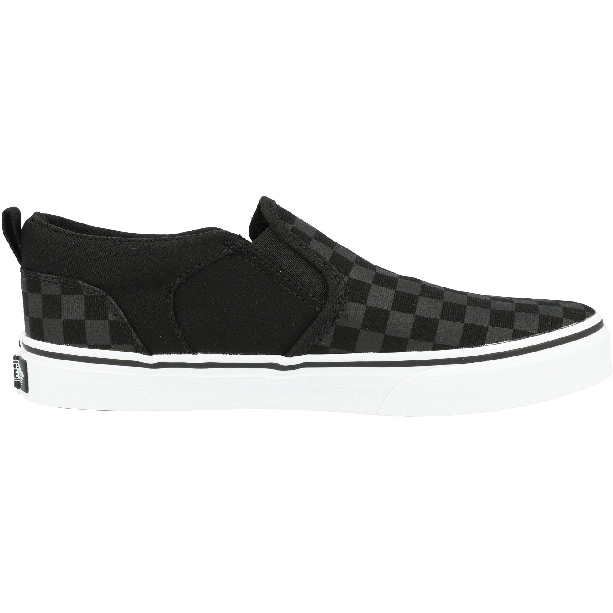 Vans Active YT Asher Black Checker Textile