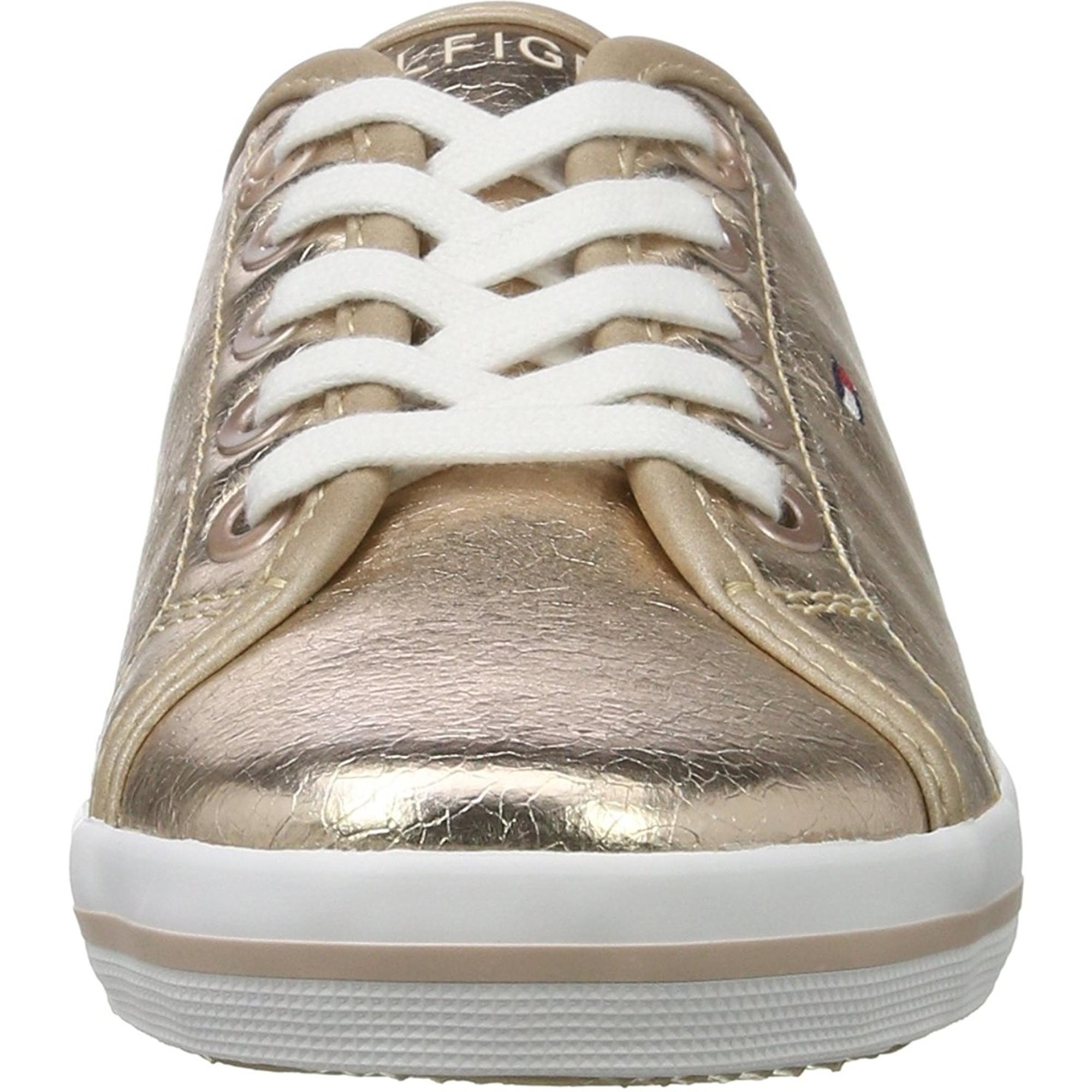 vonzó ár legjobb cipők legjobb ár Tommy Hilfiger S3285ammie 21Z Rose Gold Synthetic - Trainers Shoes ...