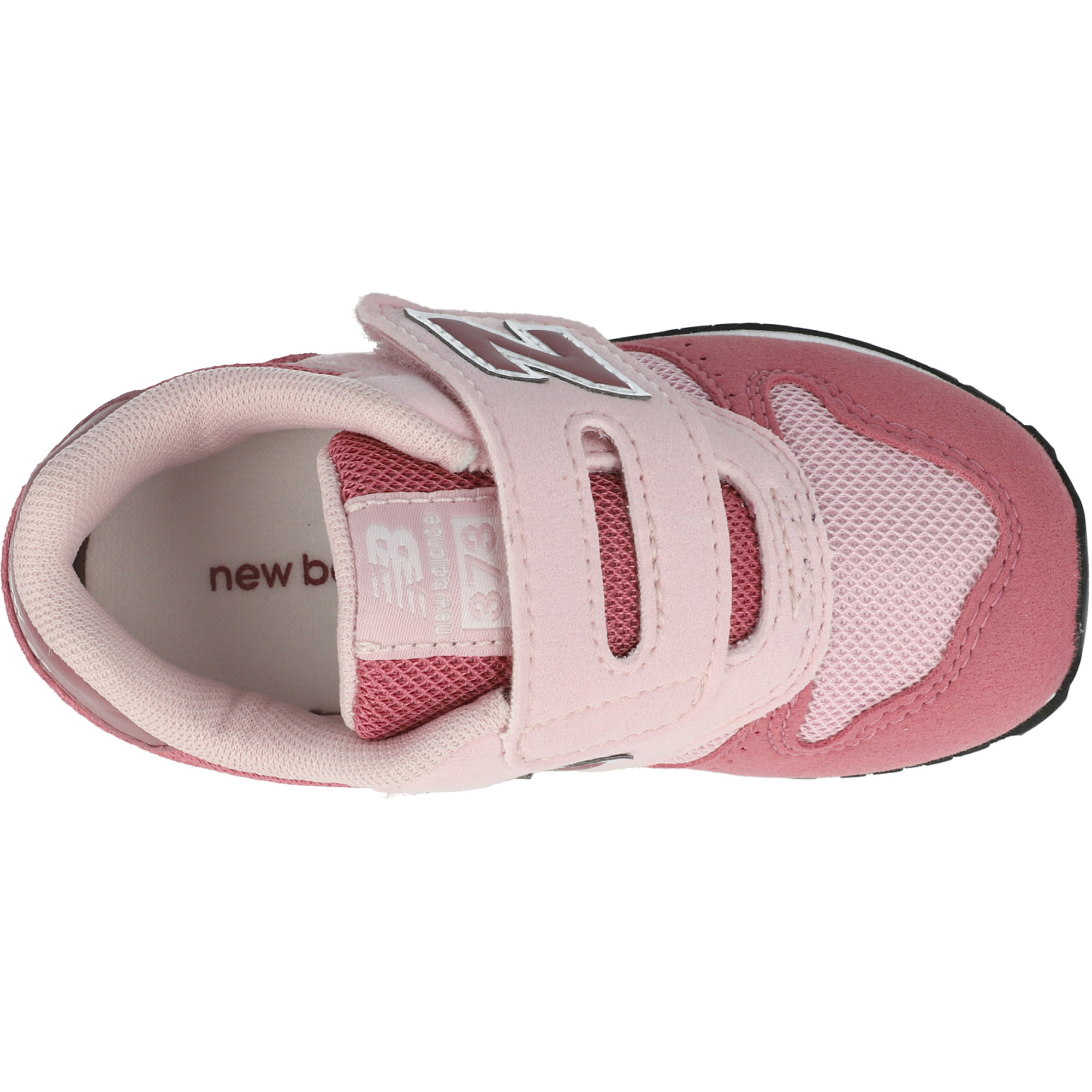 New Balance 373 Madder Rose/Navajo Rose Suede Infant