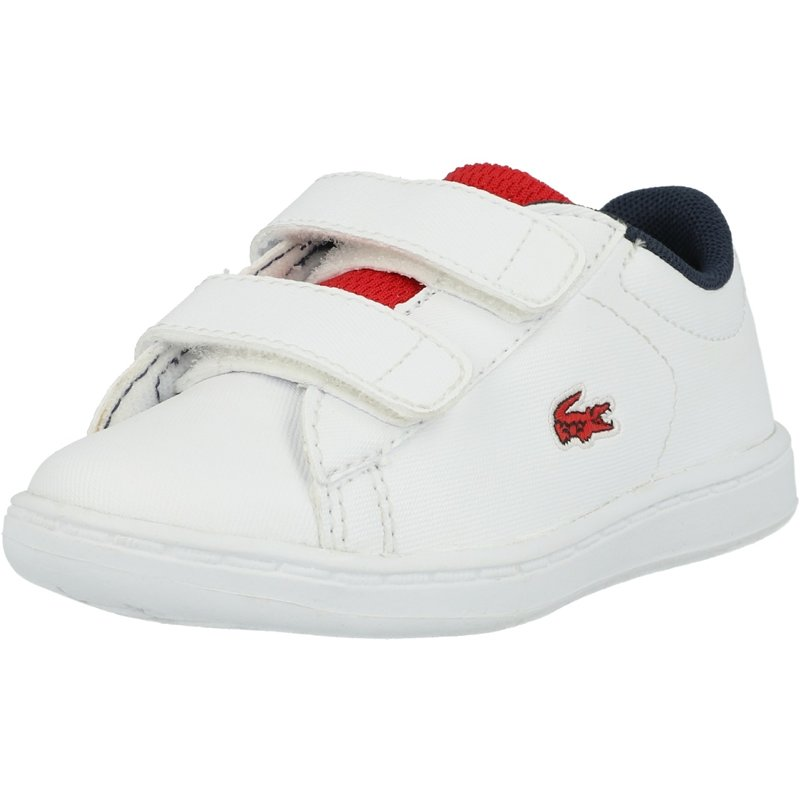 Hook And Loop Fastening Infant Boys Lacoste Esparre 2 Trainers In Navy