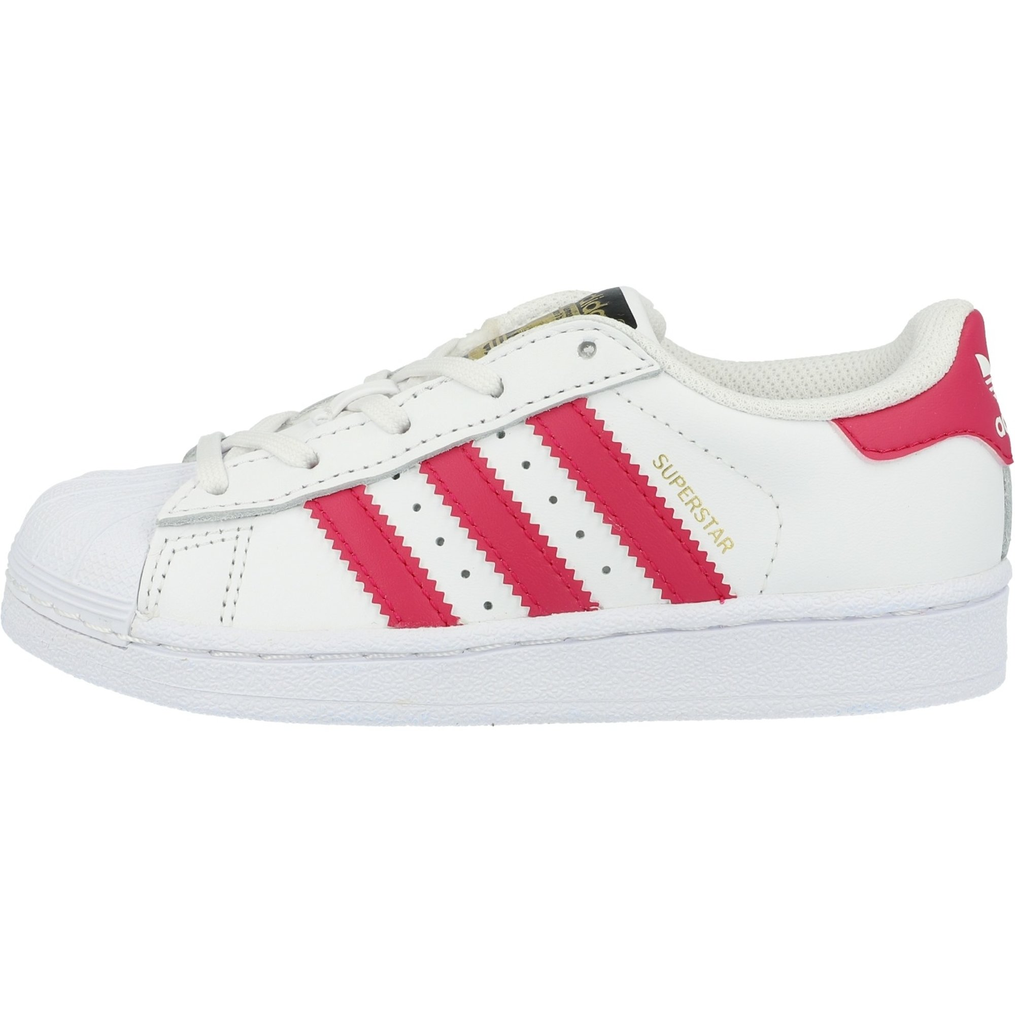 WeißFett Leder Junior Originals Pink C adidas Superstar XPZOkiuT