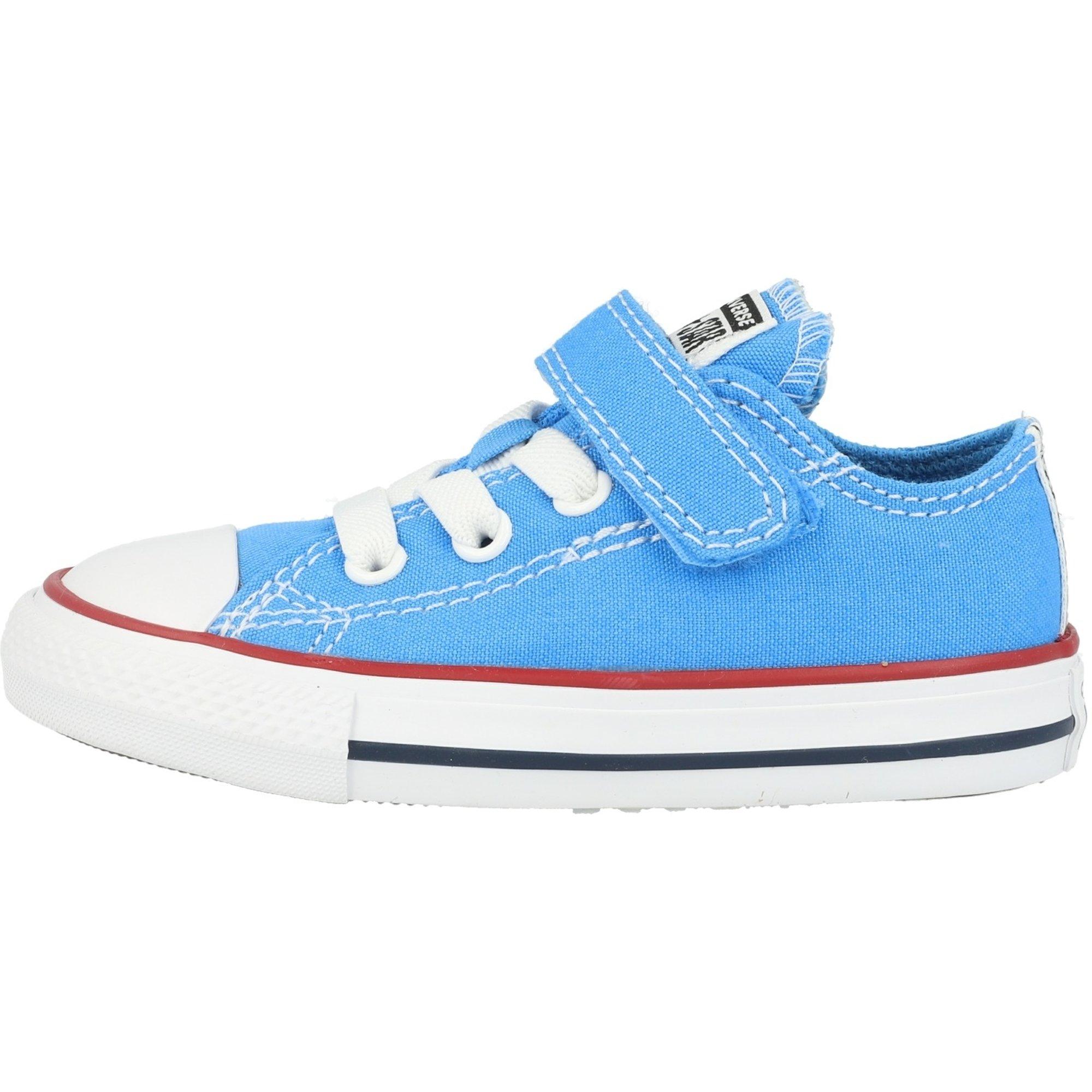 Converse Chuck Taylor All Star 1V Ox Coast/Garnet/White Canvas Baby