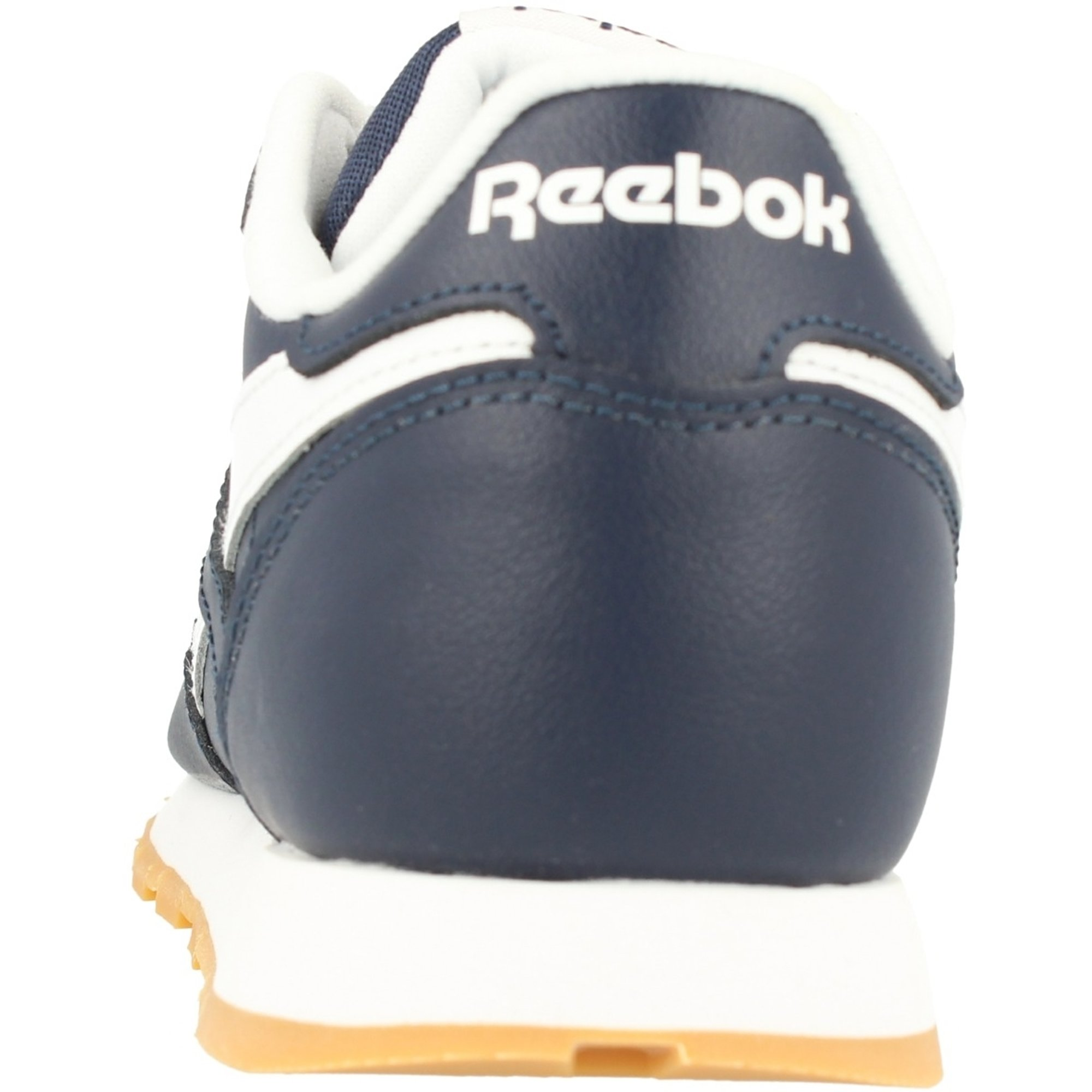 Reebok Classic Leather Marine CollégialeBlanc Cuir Junior