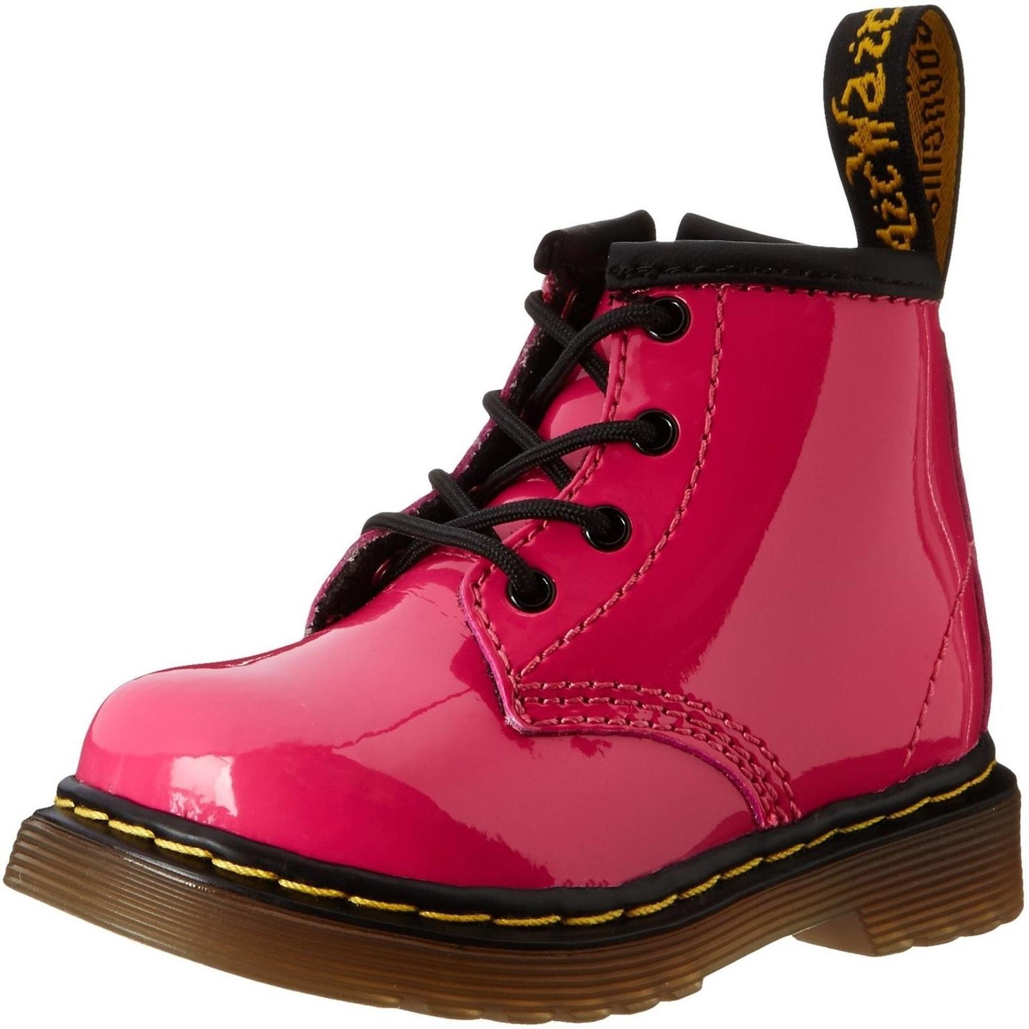 Dr martens Brooklee B 15933670 Hot Pink Baby Toddler Shoes