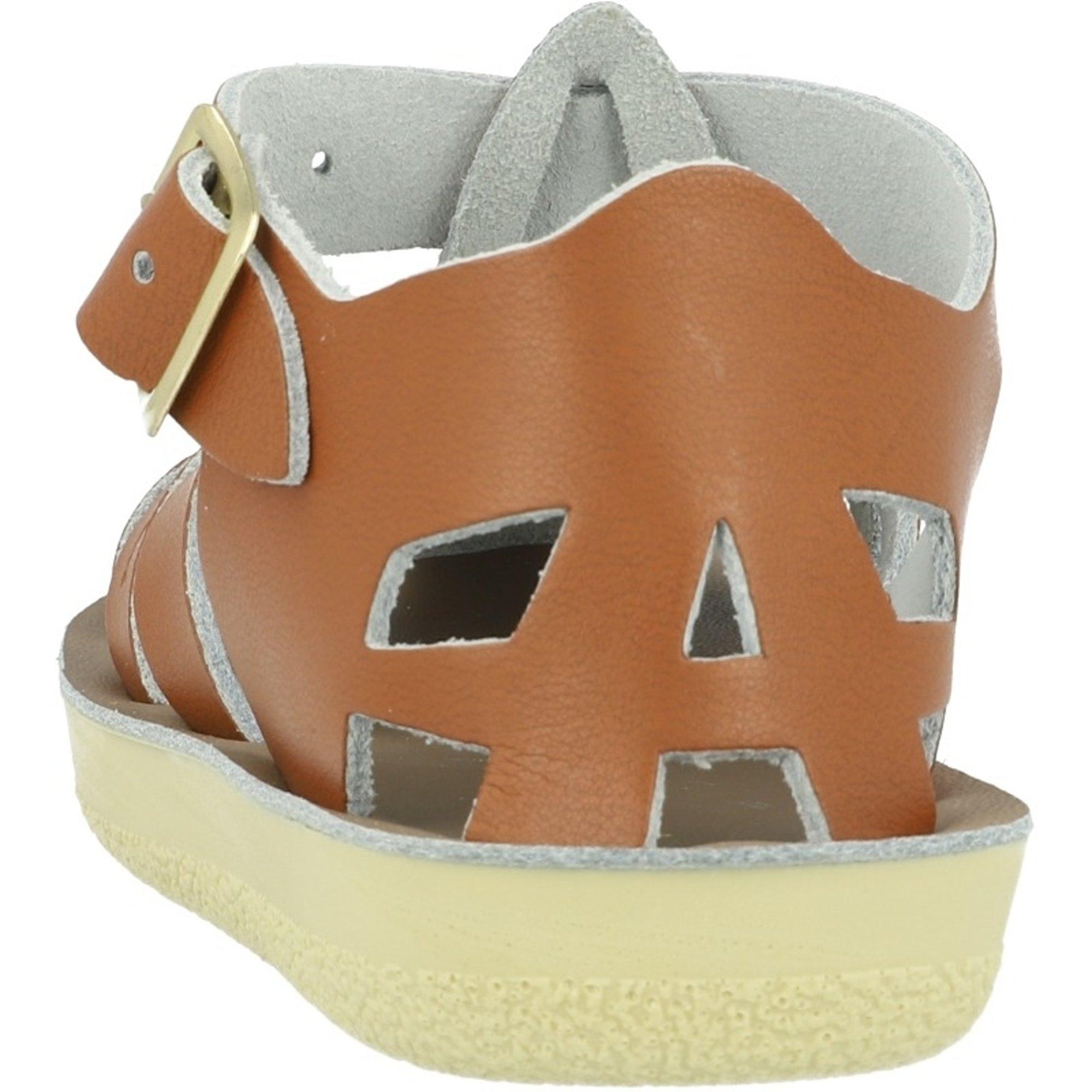Salt Water Sandals Sun-San Shark Tan Leather