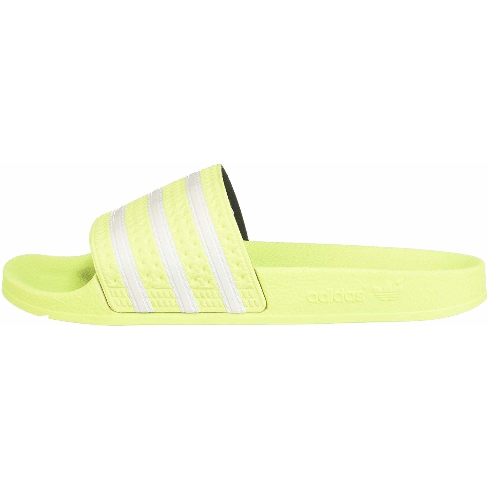 adidas Originals adilette Halbgefrorenes Gelb Synthetik Erwachsene