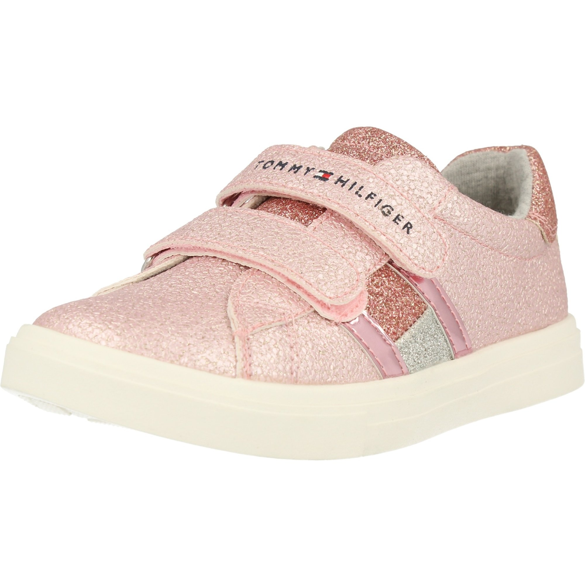 Tommy Hilfiger Trainer Pink Eco Leather