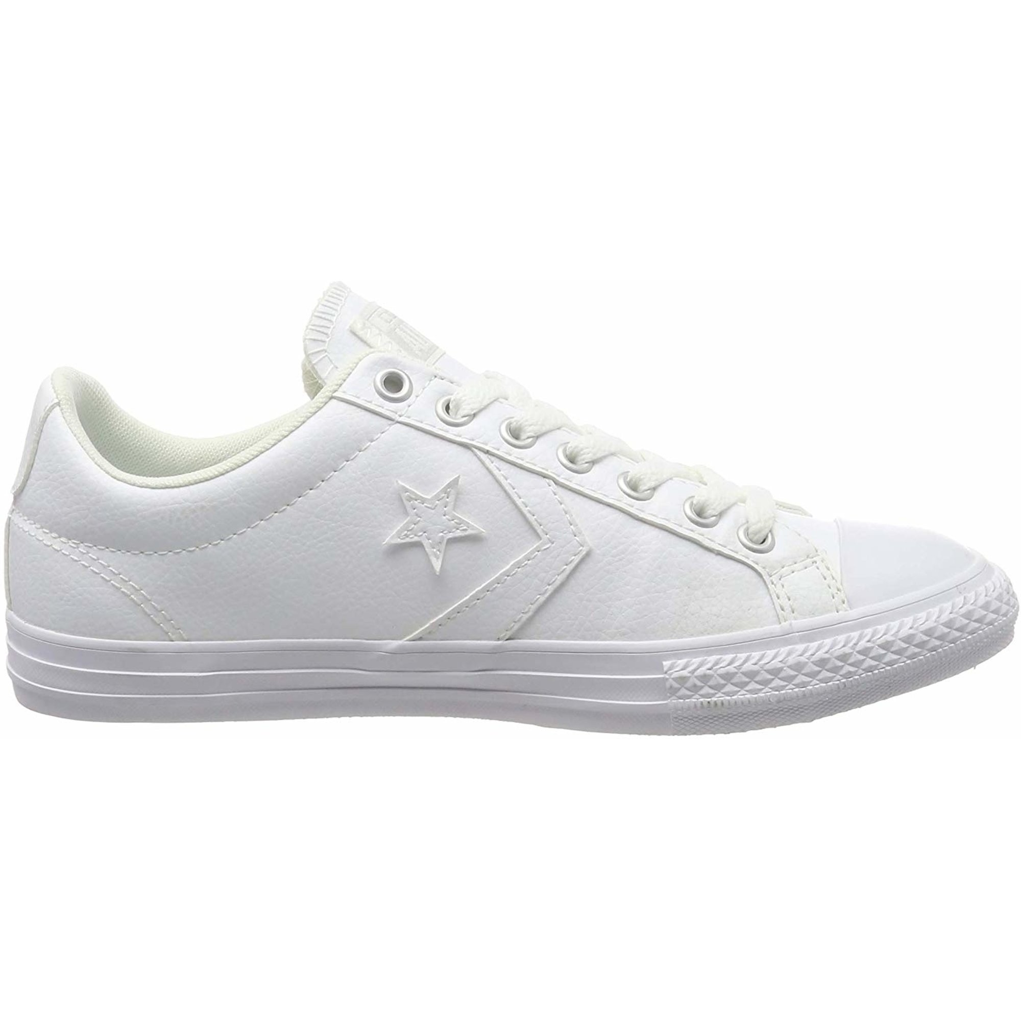 Converse Star Player White Synthetic Youth