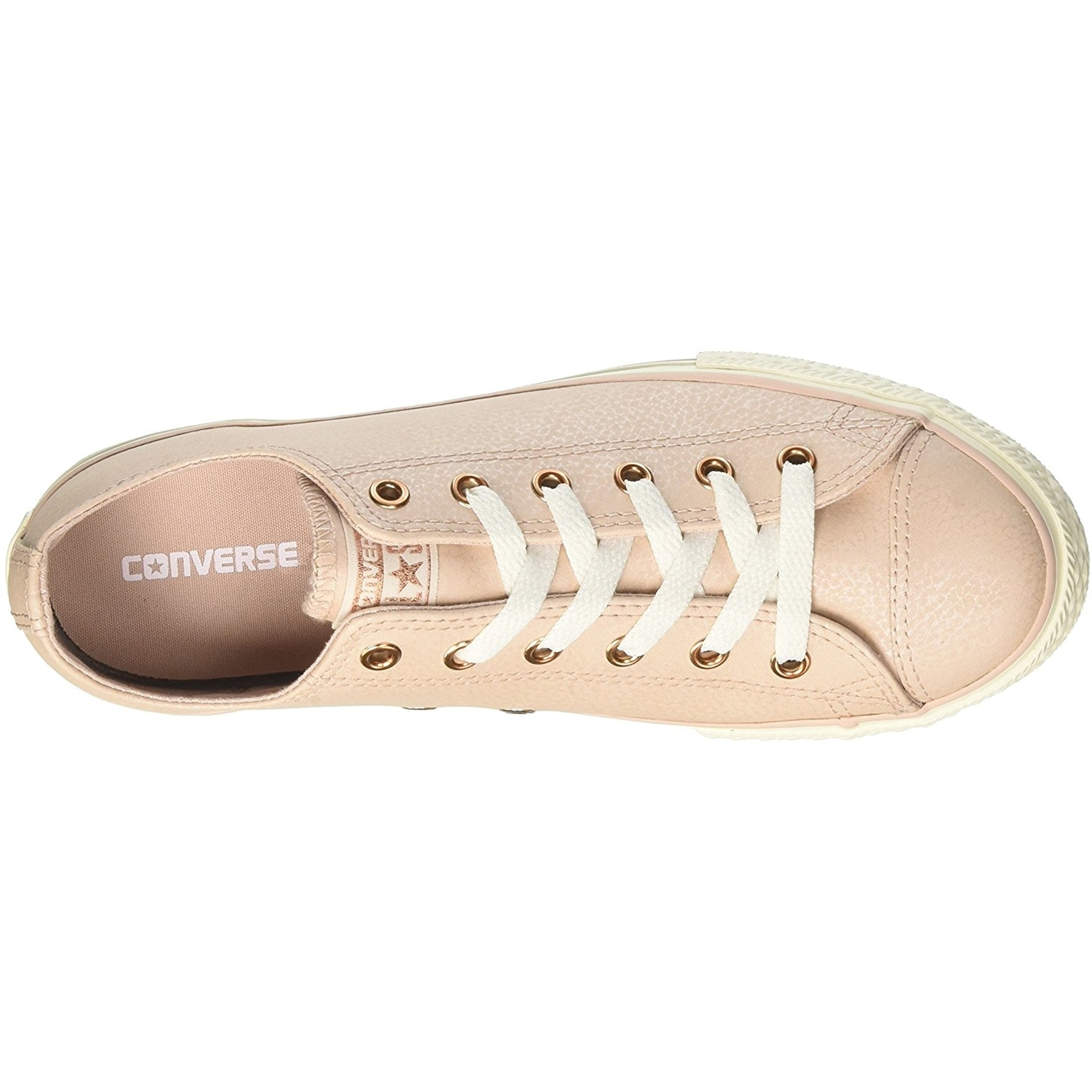 Converse Chuck Taylor All Star Leather Ox Particle Beige Leather Youth
