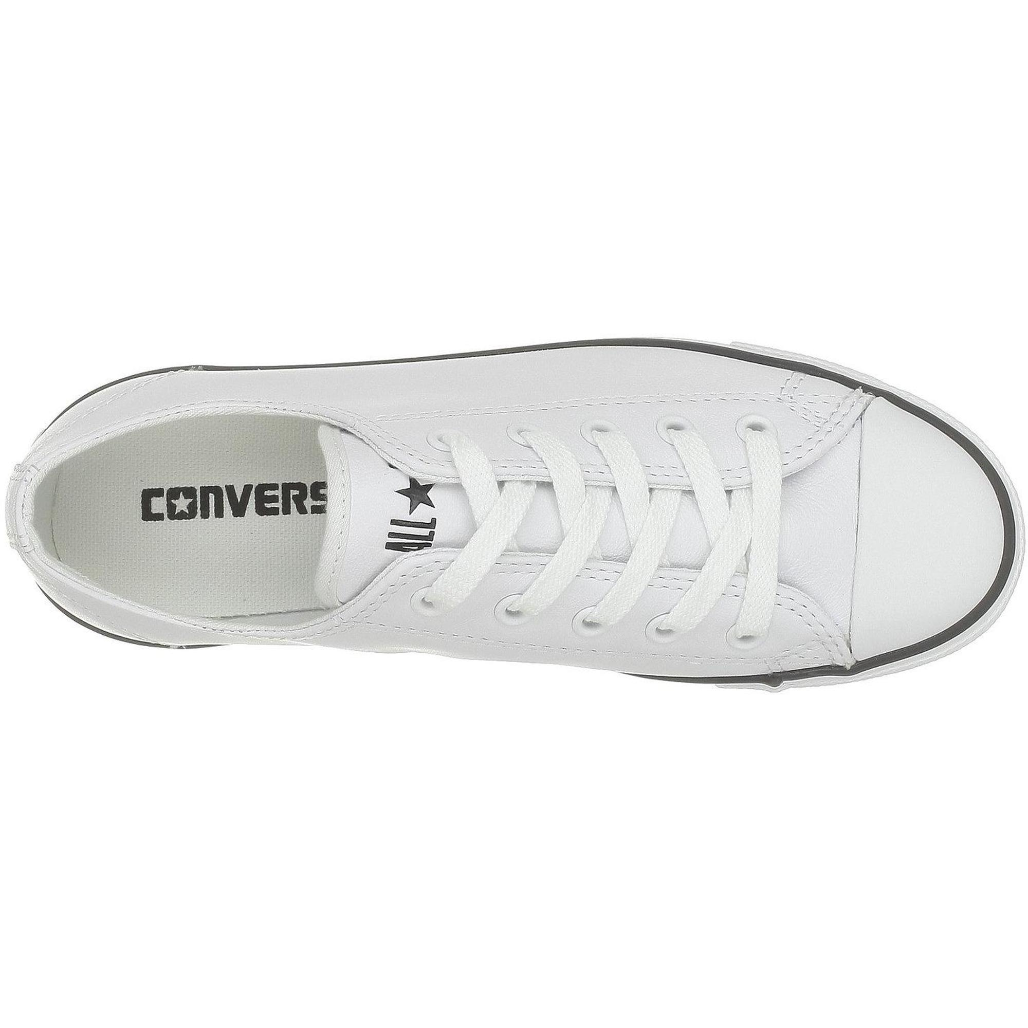 Converse Chuck Taylor All Star Dainty Weiß Leder Erwachsene