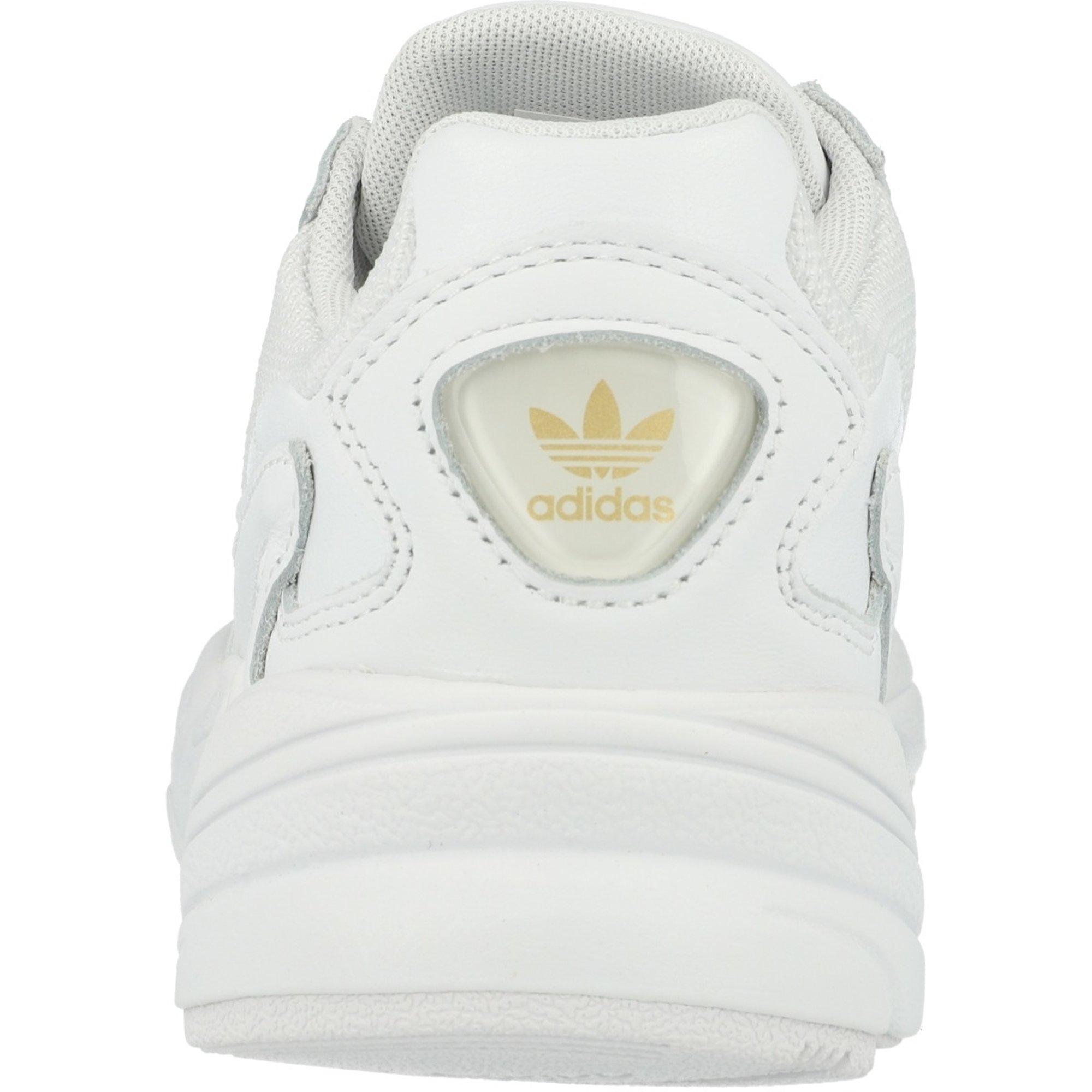 adidas Originals Falcon W White/Gold Metallic Leather Adult