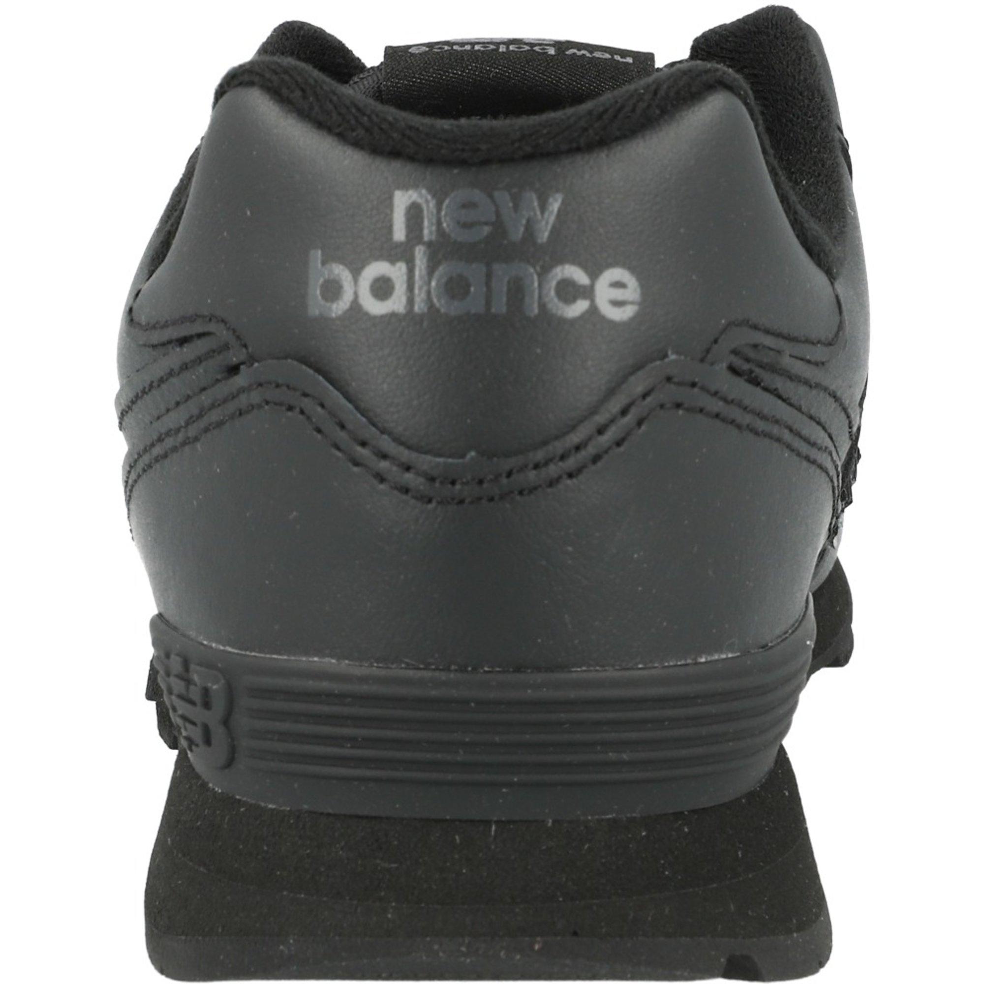 new balance cuero negro