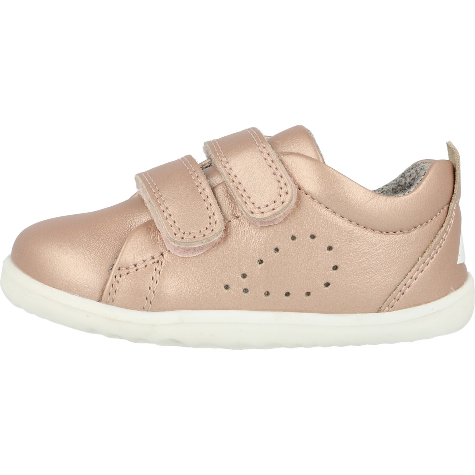 Bobux Step Up Grass Court Rose Gold Leather Infant