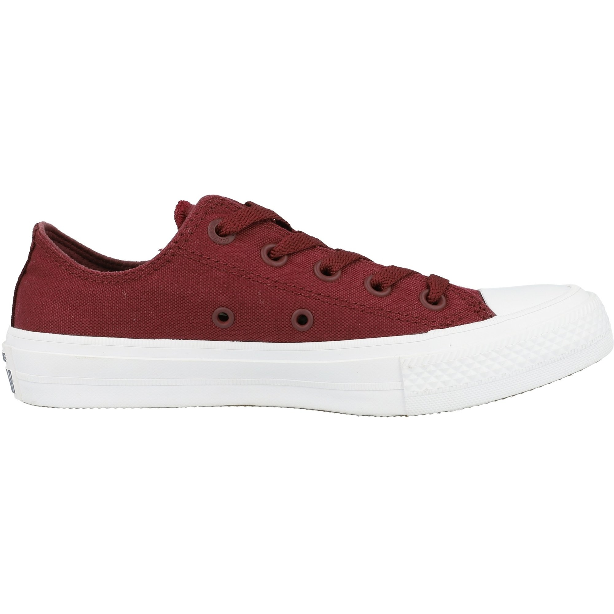 Converse Chuck Taylor All Star II Ox Bordeaux Textile