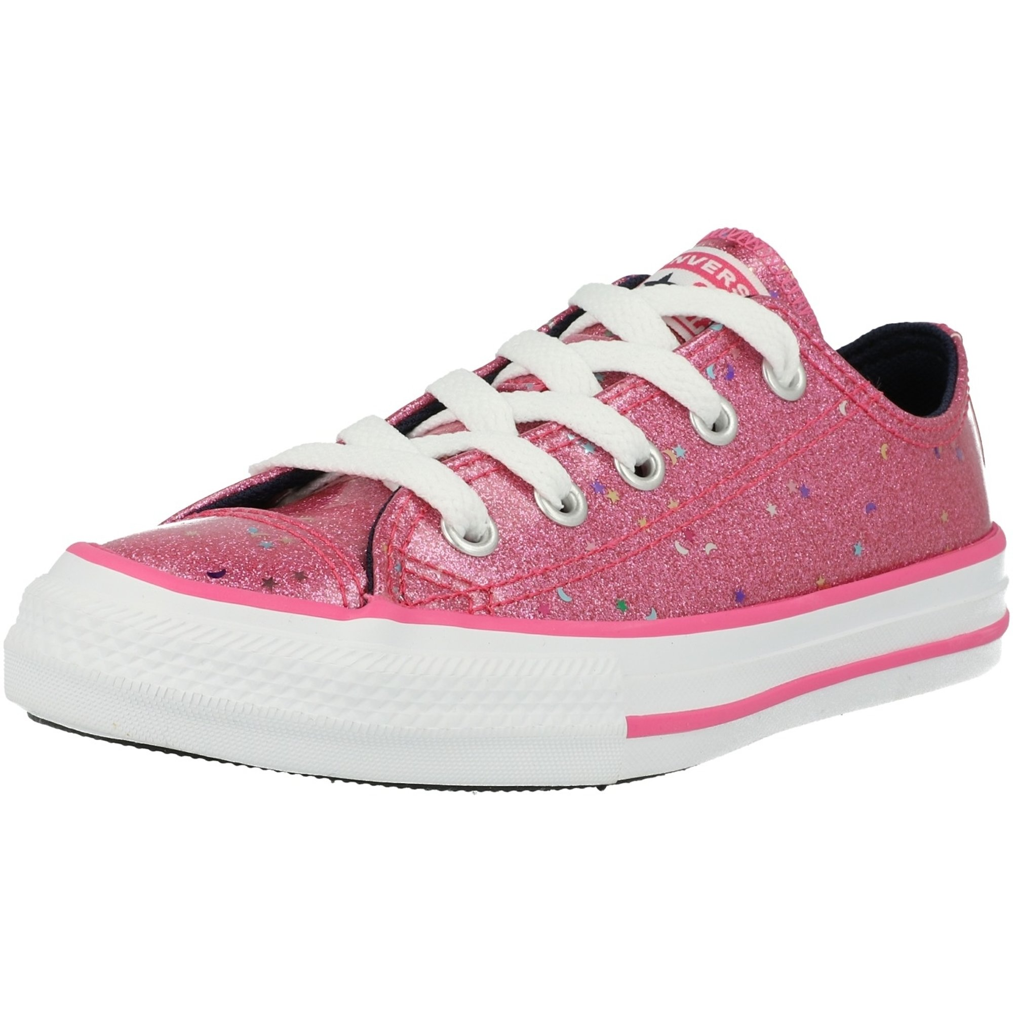 Converse Chuck Taylor All Star Galaxy Glimmer Ox Mod Pink Synthetik Jugend