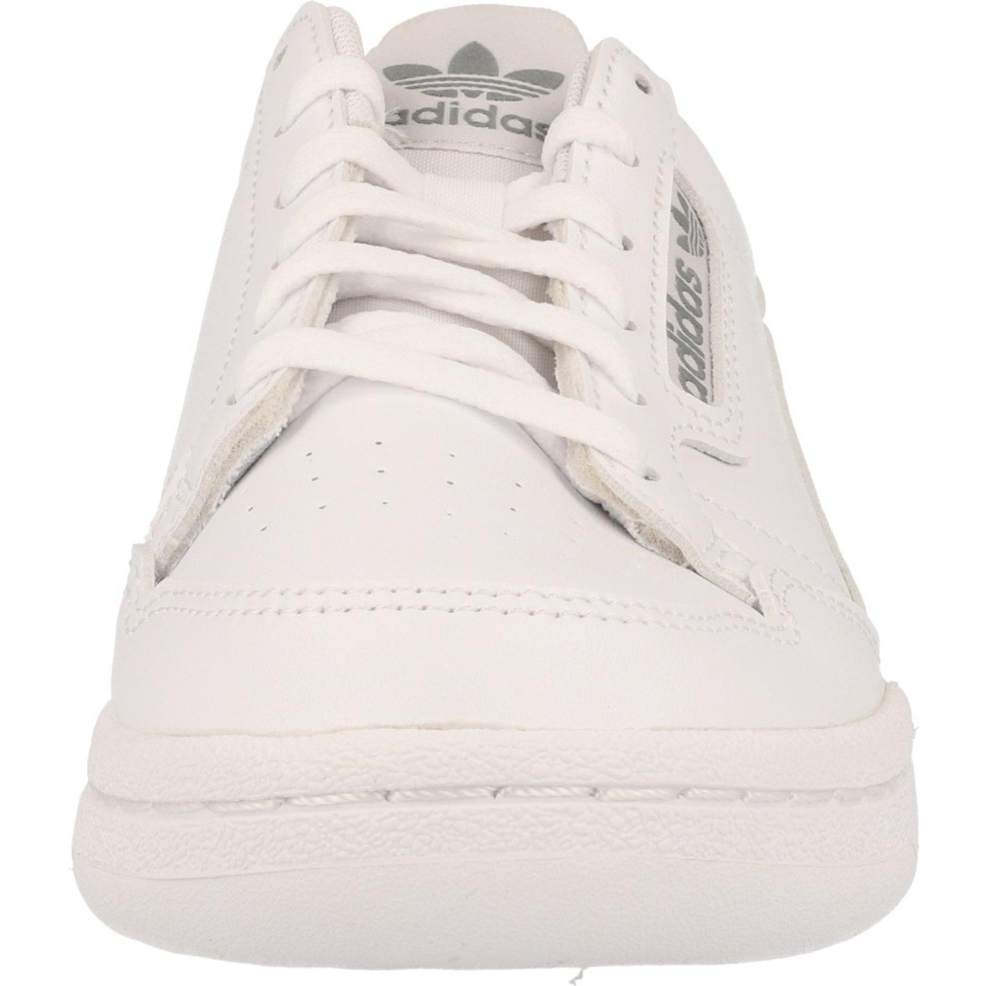 adidas Originals Continental 80 J WeißGraue Eins Synthetik Jugend